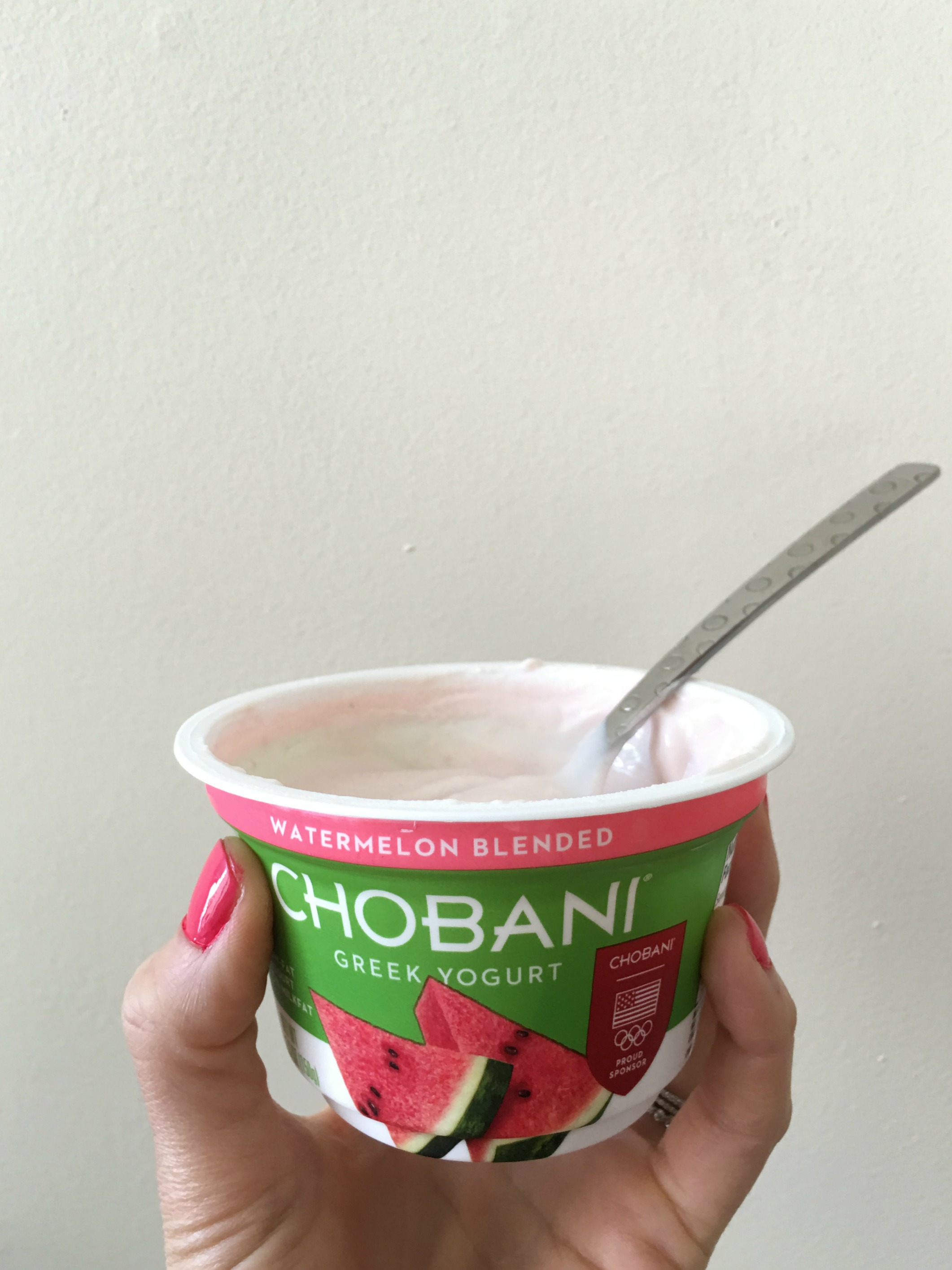 watermelon chobani yogurt