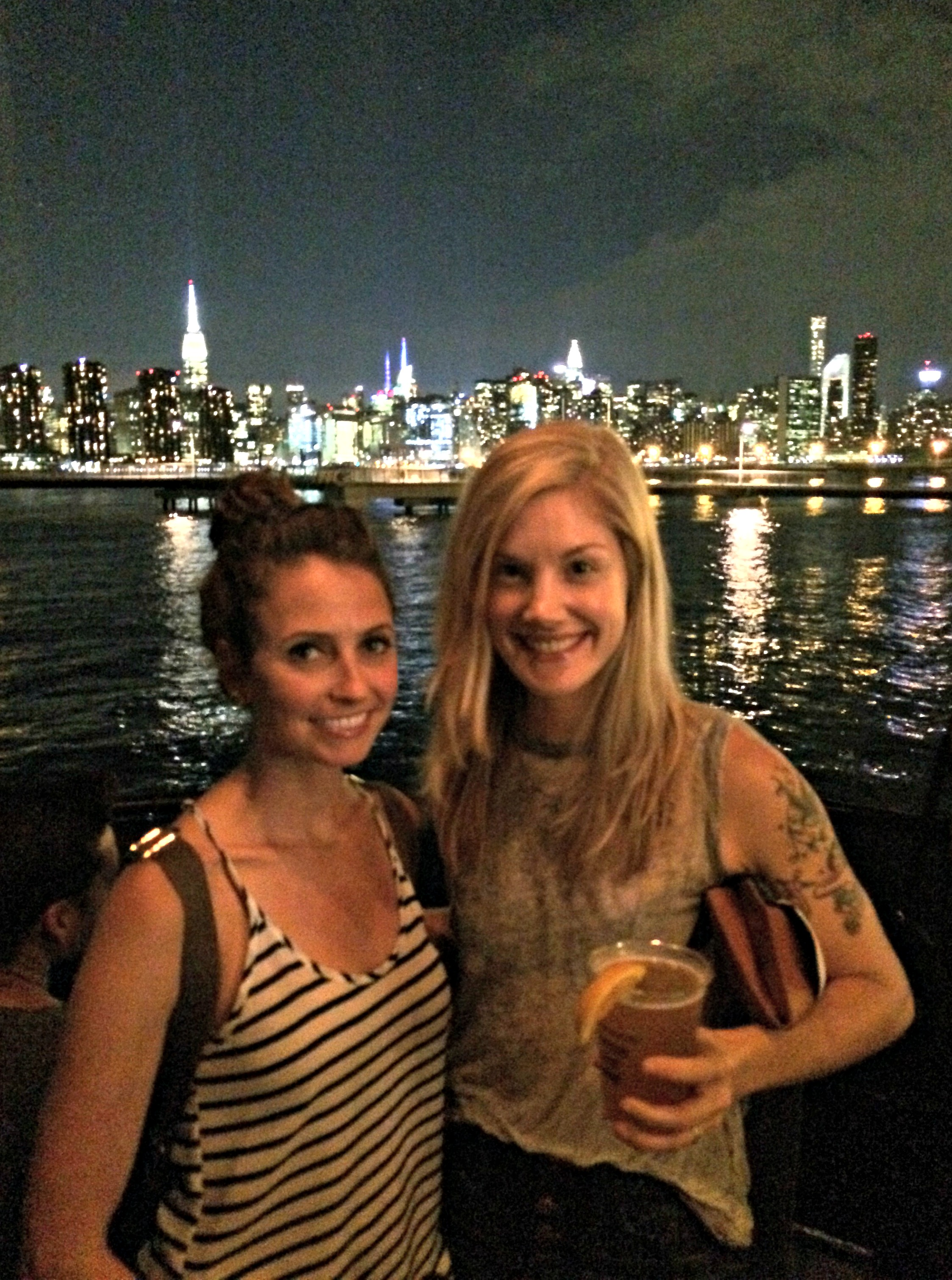Brooklyn Barge with Kristen