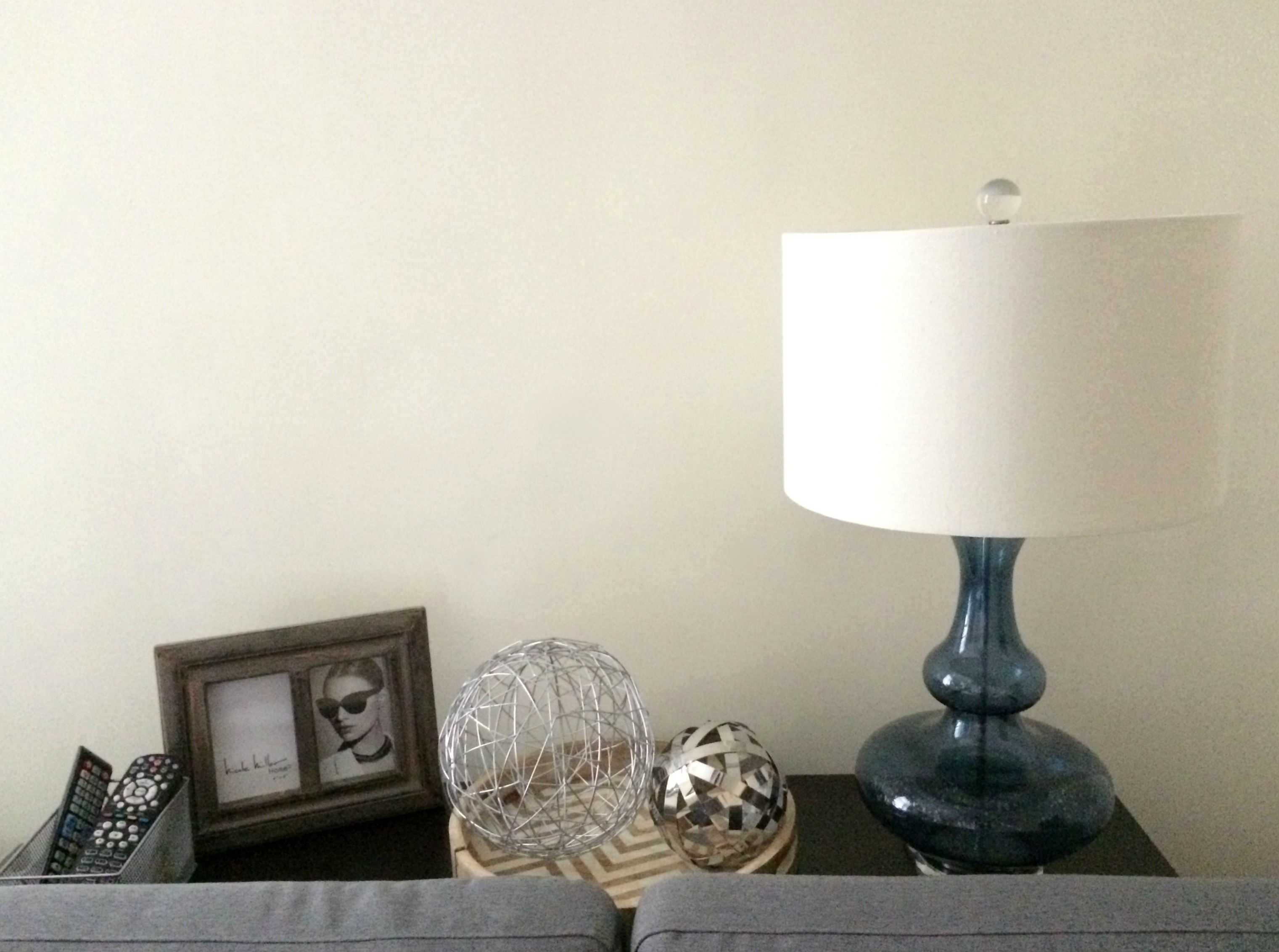 HomeGoods accessories - Nicole Miller lamp and picture frame