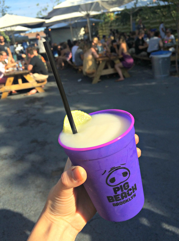 Pig Beach frozen drinks