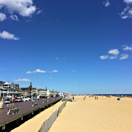 belmar beach, new jersey shore