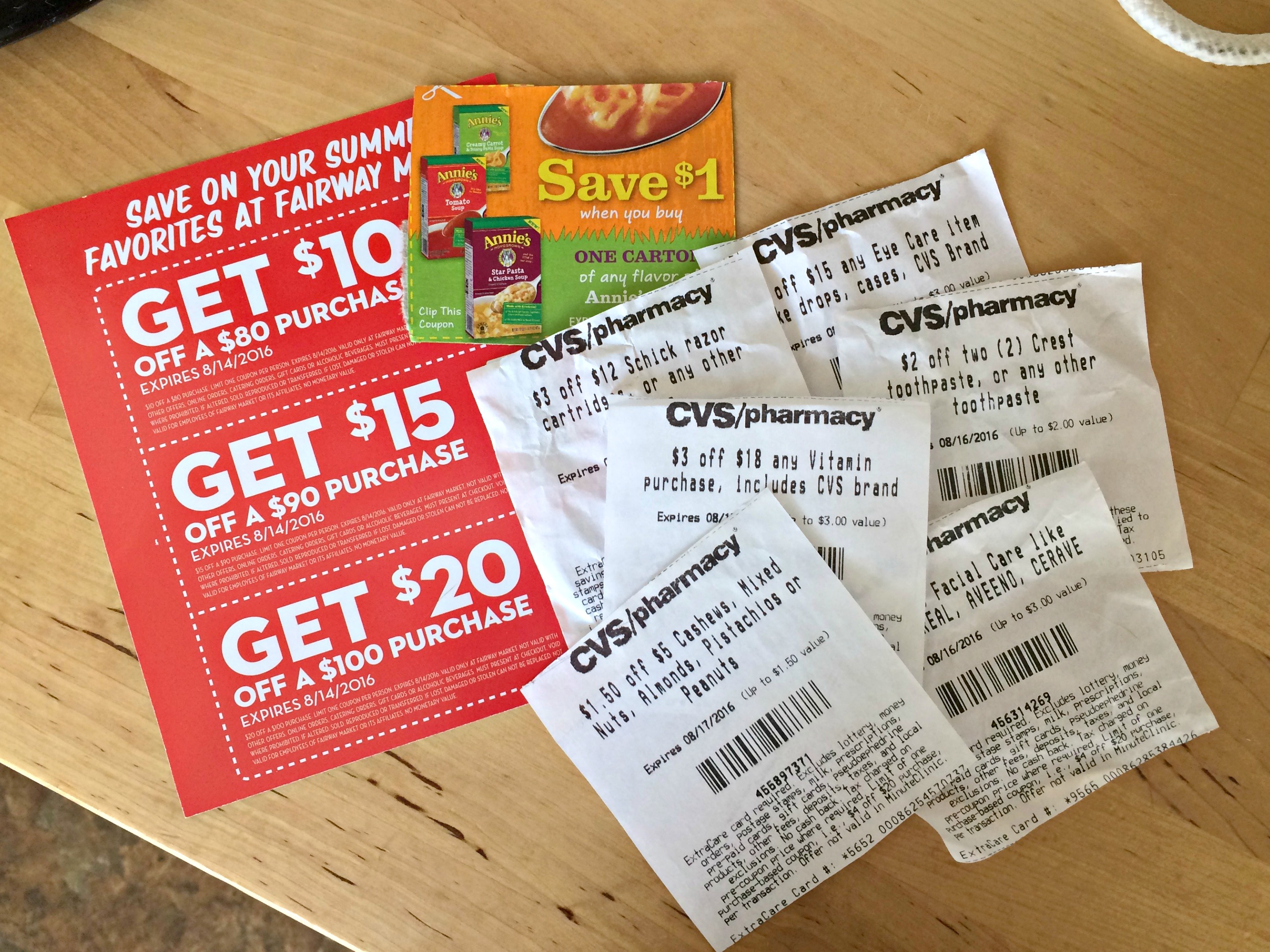 coupons and CVS savings