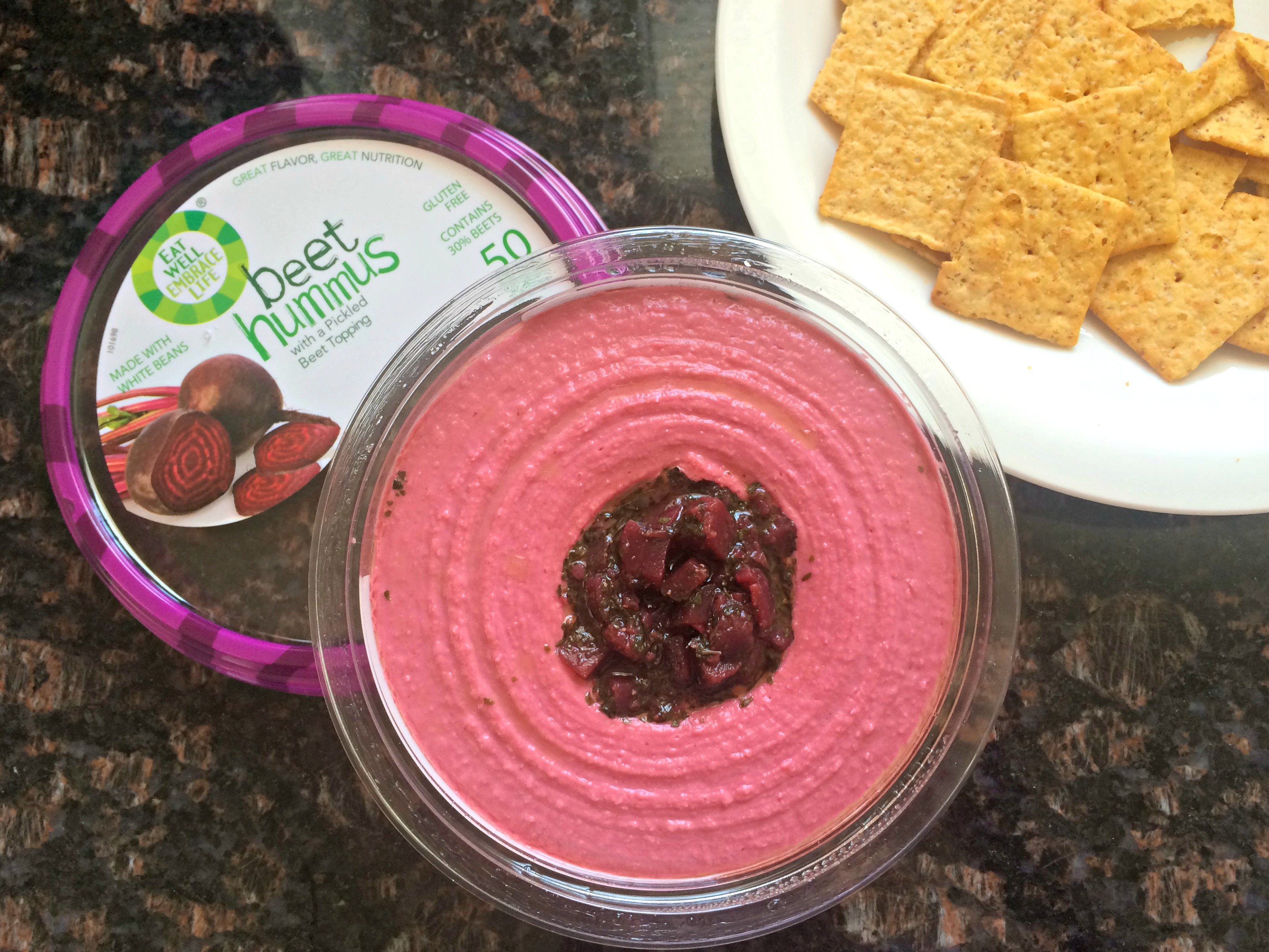 eat well embrace life beet hummus