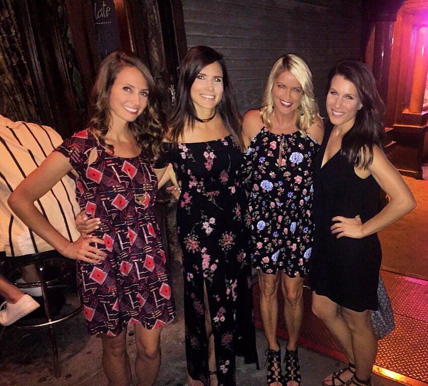 girls at lil frankies pizza nyc