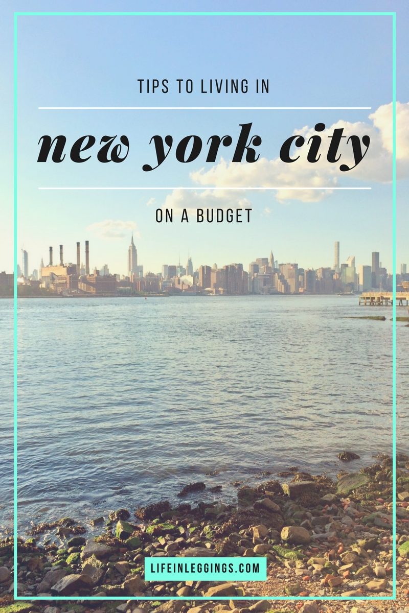 how to live in NYC on a budget