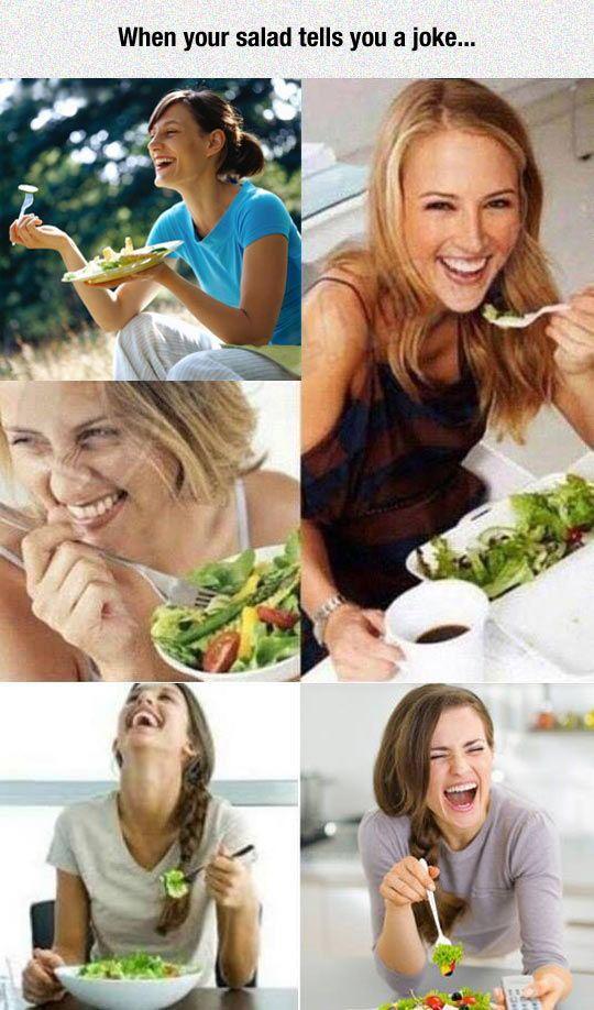 salad funny