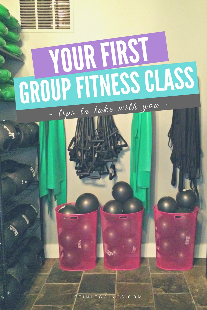 tips to take to your first group fitness class