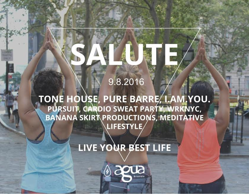 SALUTE Pop Up Yoga NYC