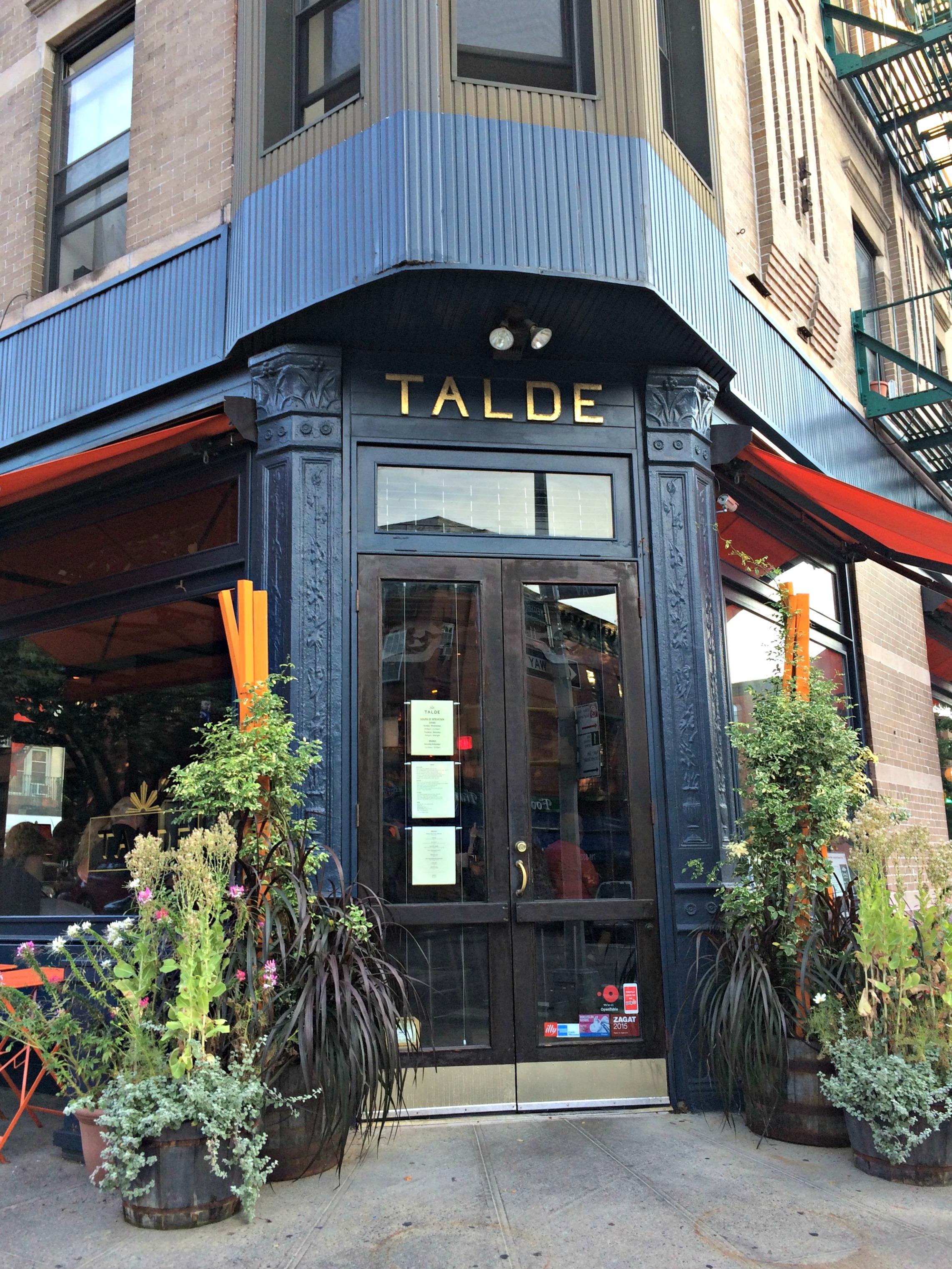 Talde Park Slope