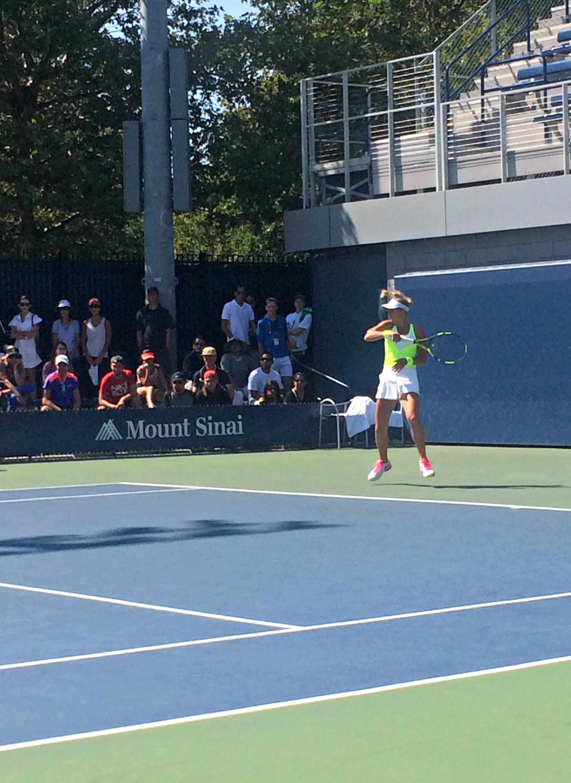 US Open Maria Mateas