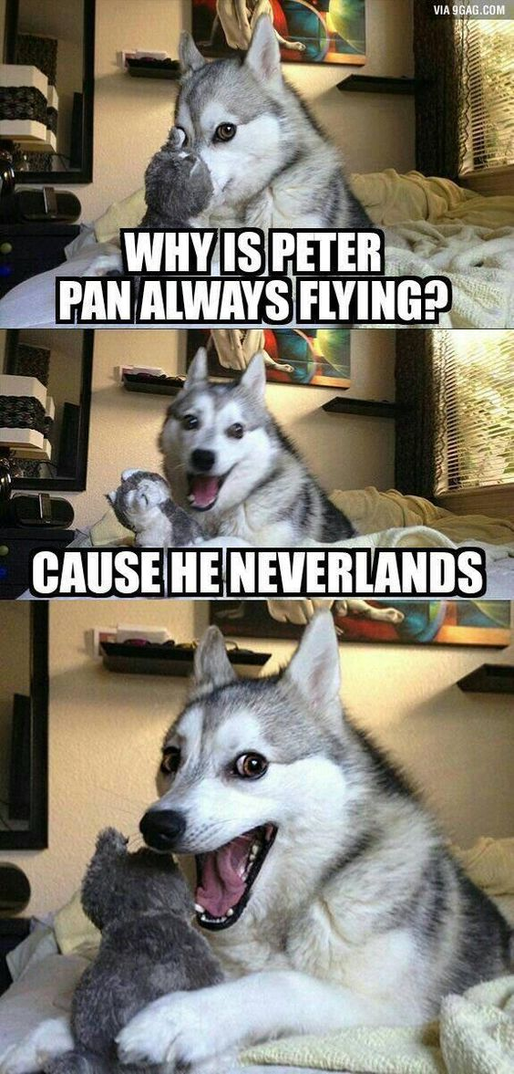 peter pan funny