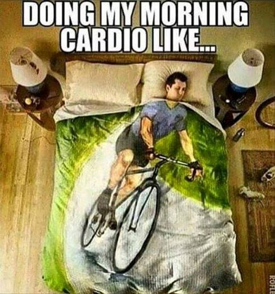 cardio funny