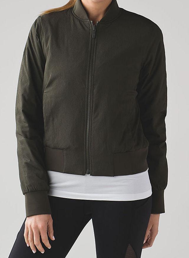 lulu bomber jacket