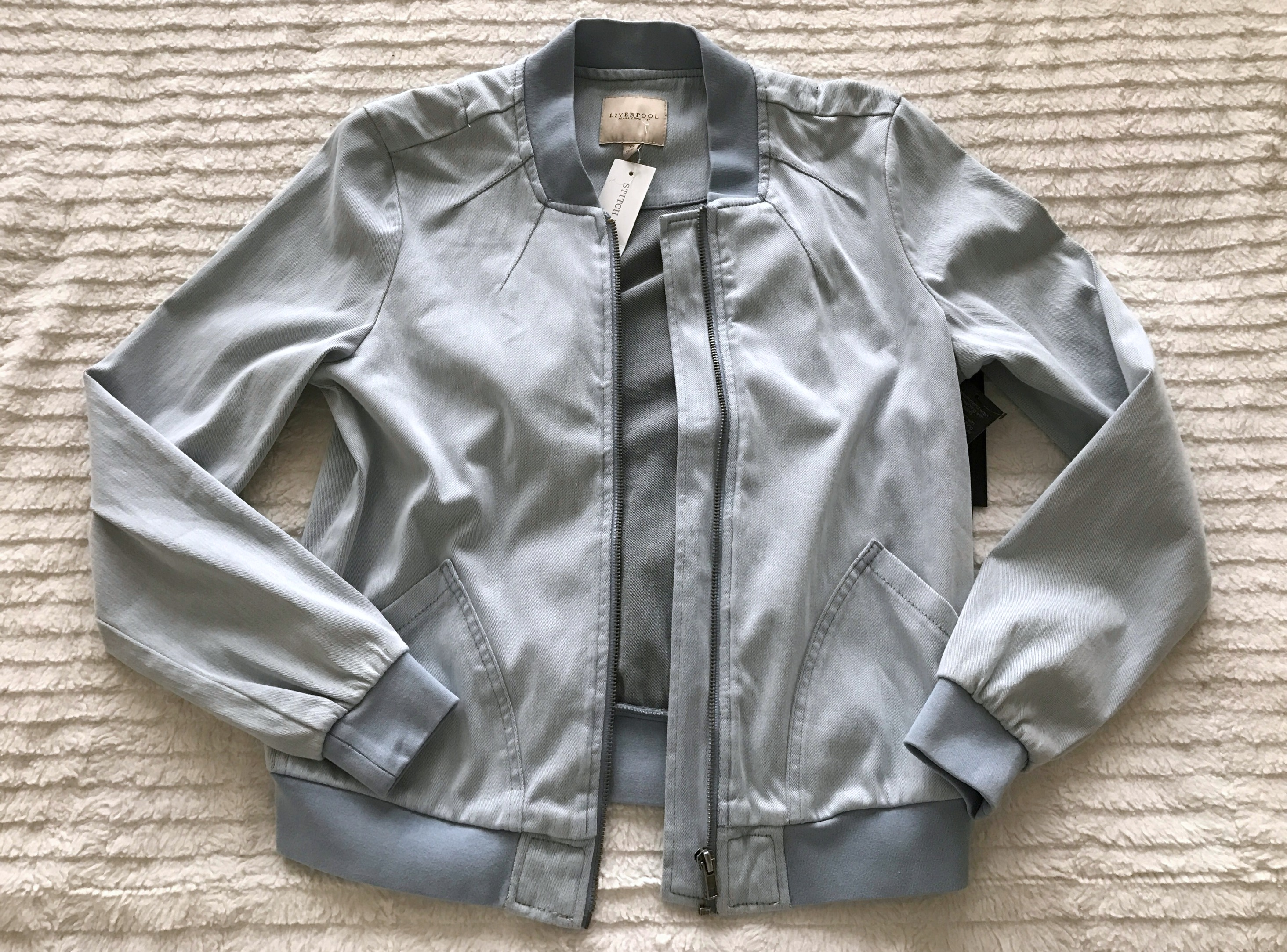stitch fix liverpool kennedy bomber jacket