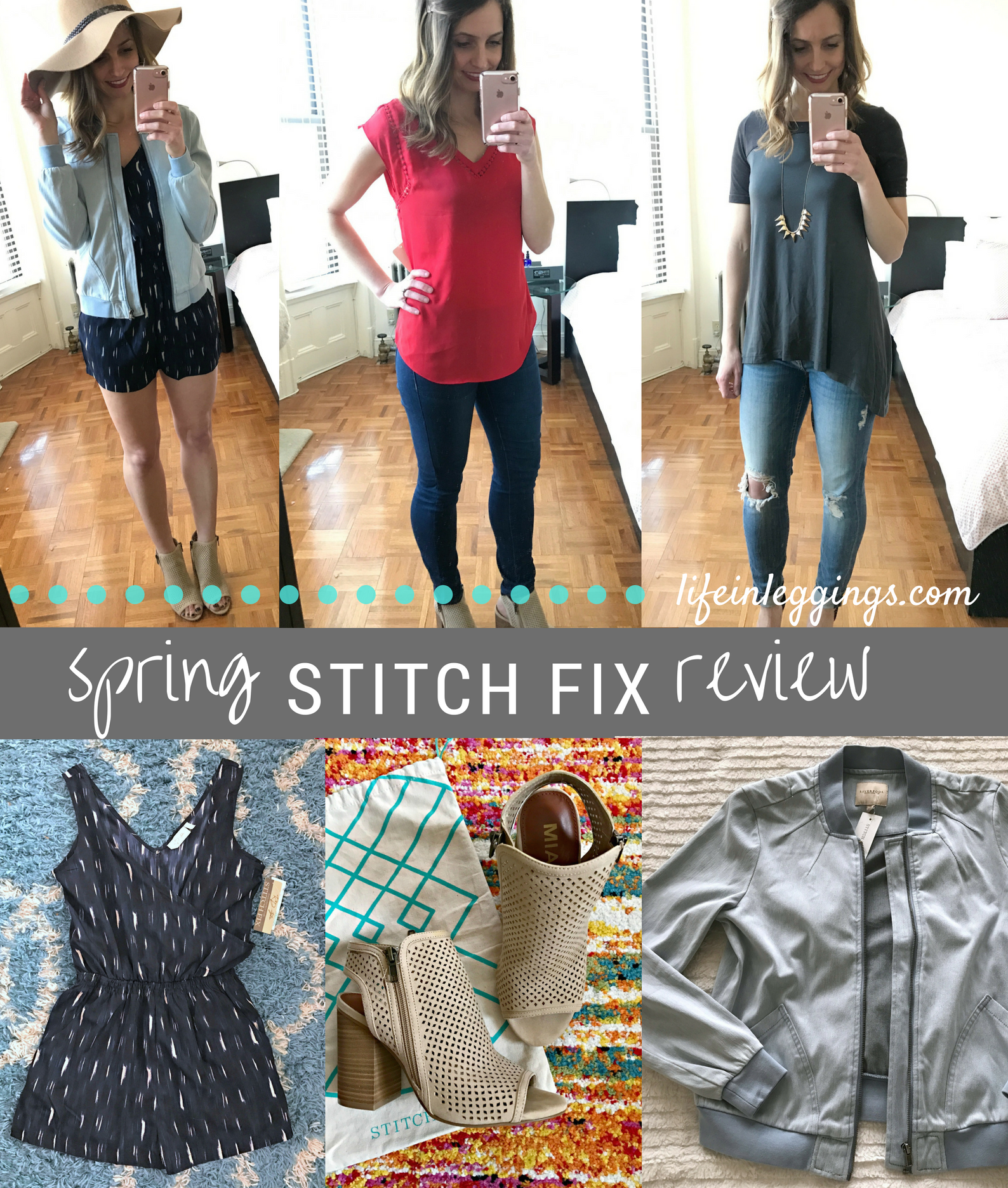 stitch fix review march - spring - life in leggings