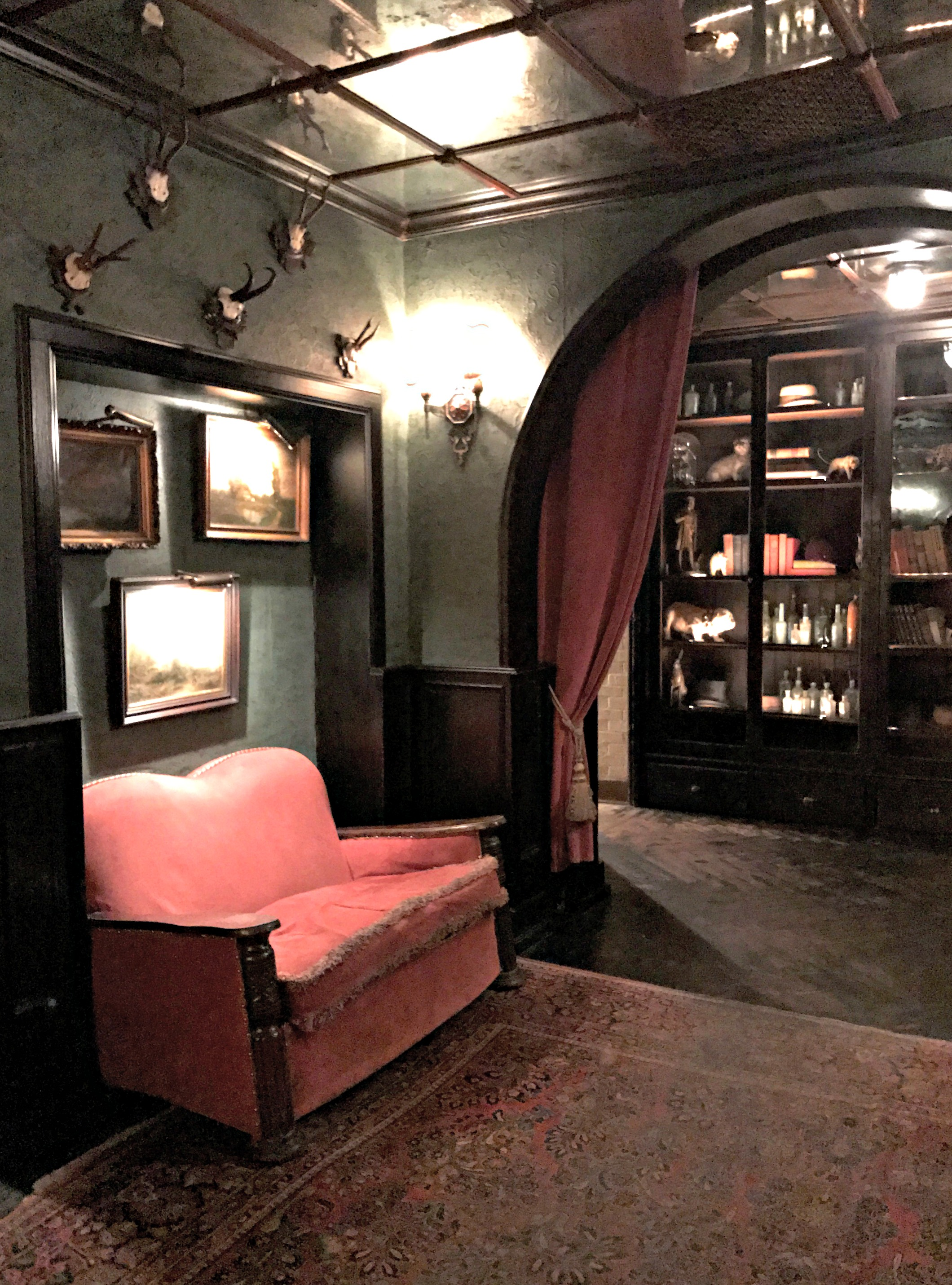 The Bowery Hotel bar