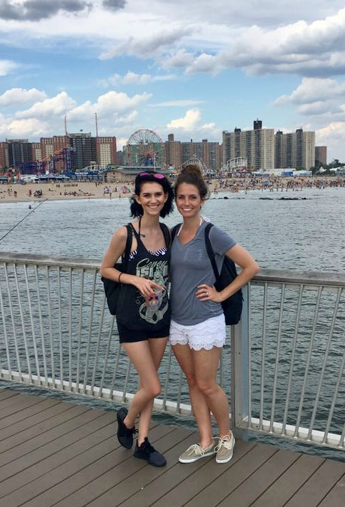 coney island with mckenzie