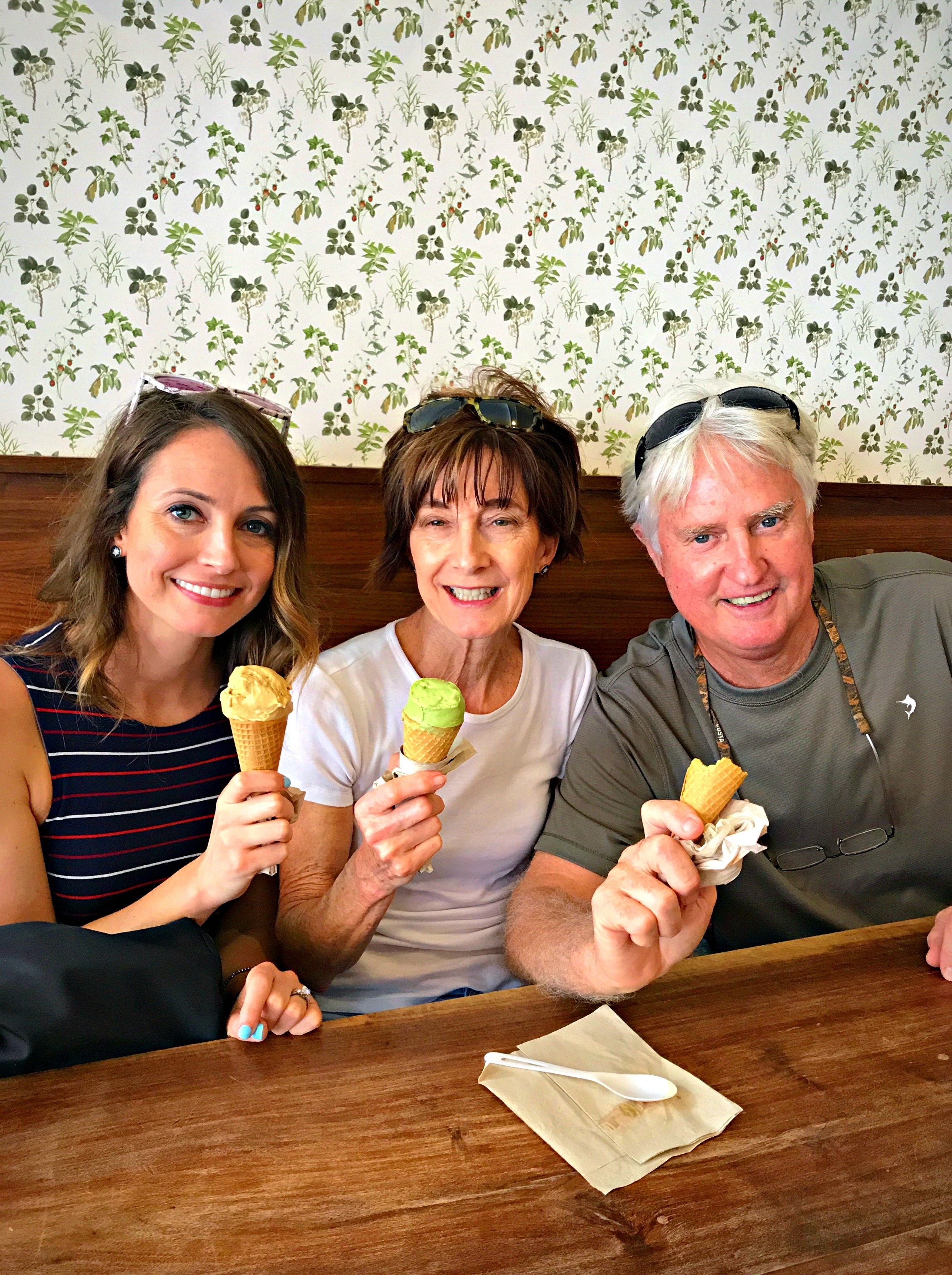 van leeuwen ice cream nyc with mom and dad