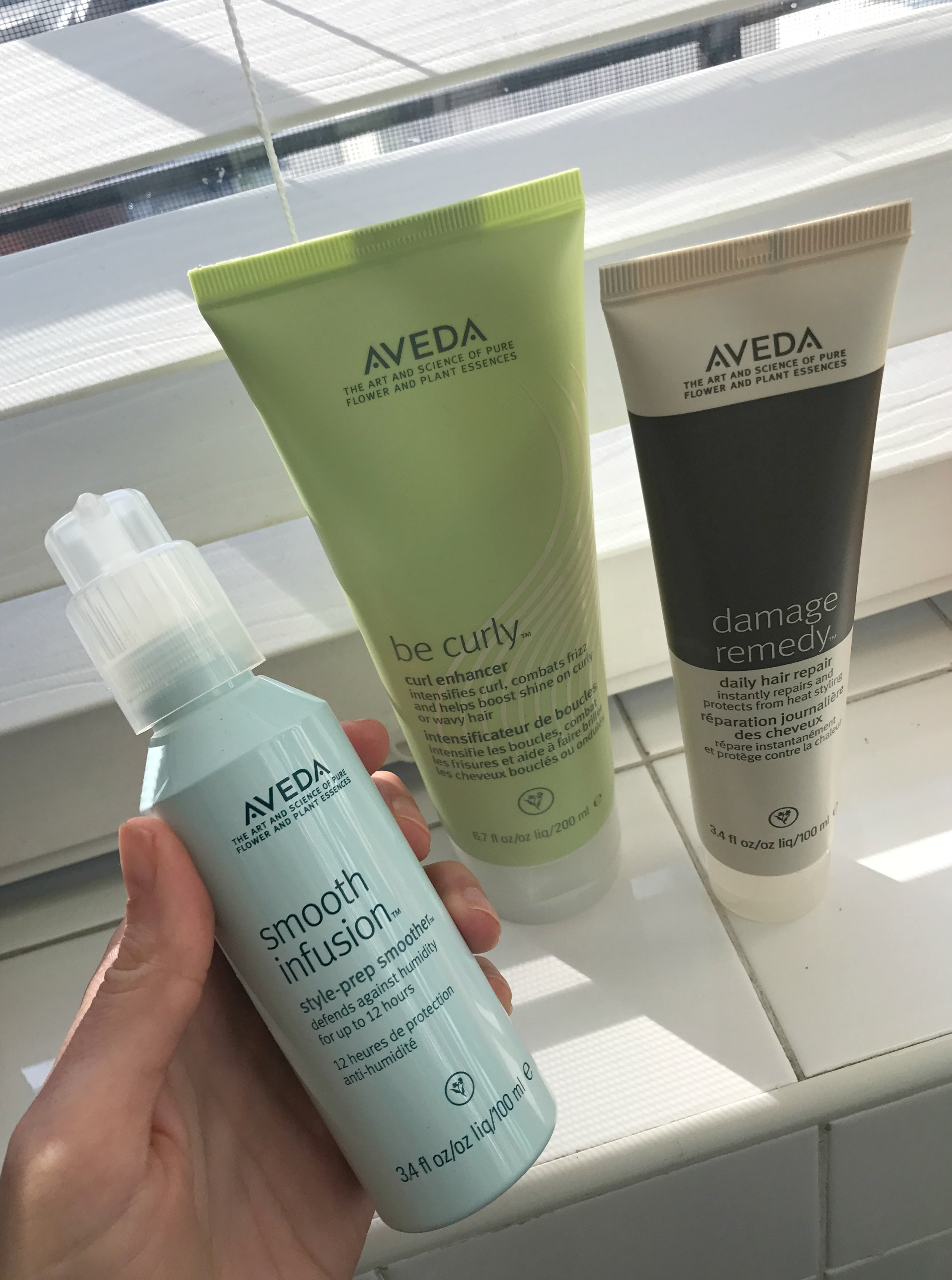 aveda smooth infusion be curl and damage remedy