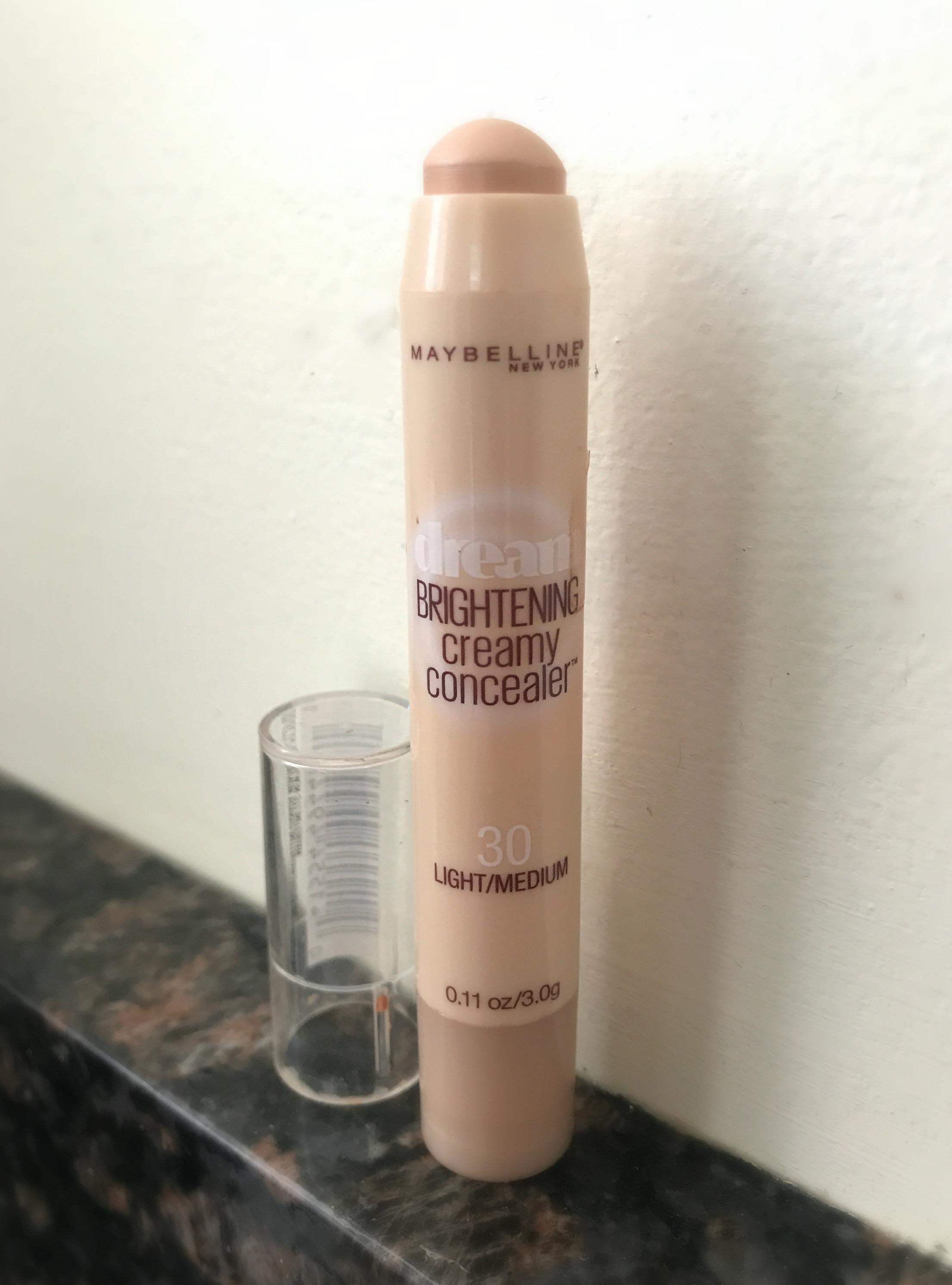 mabelline brightening creamy concealer