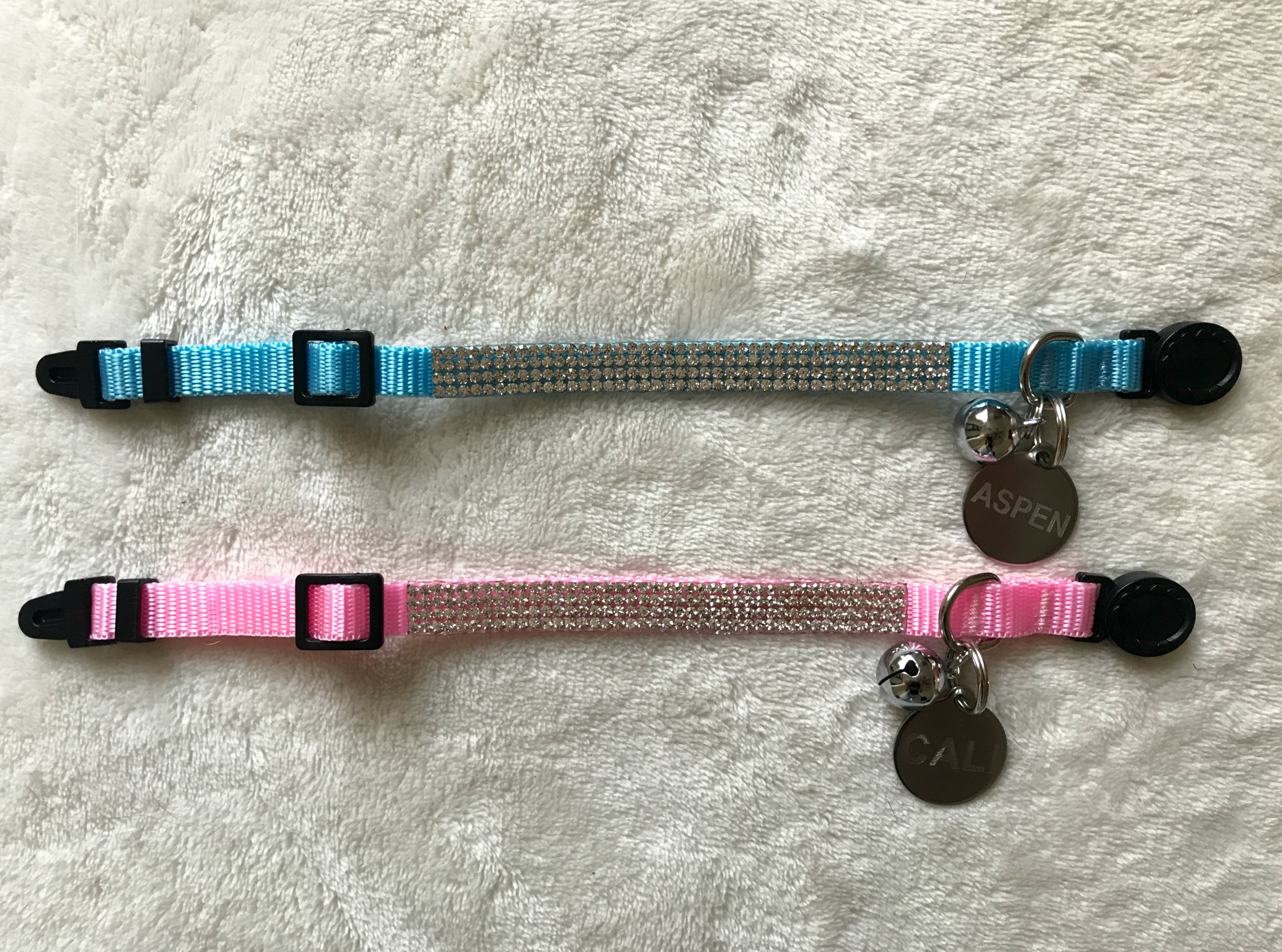 sparkle cat collars