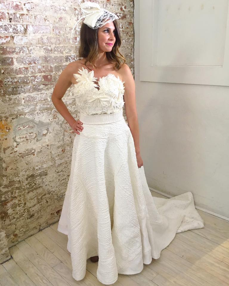 toilet paper wedding dress contest 2017
