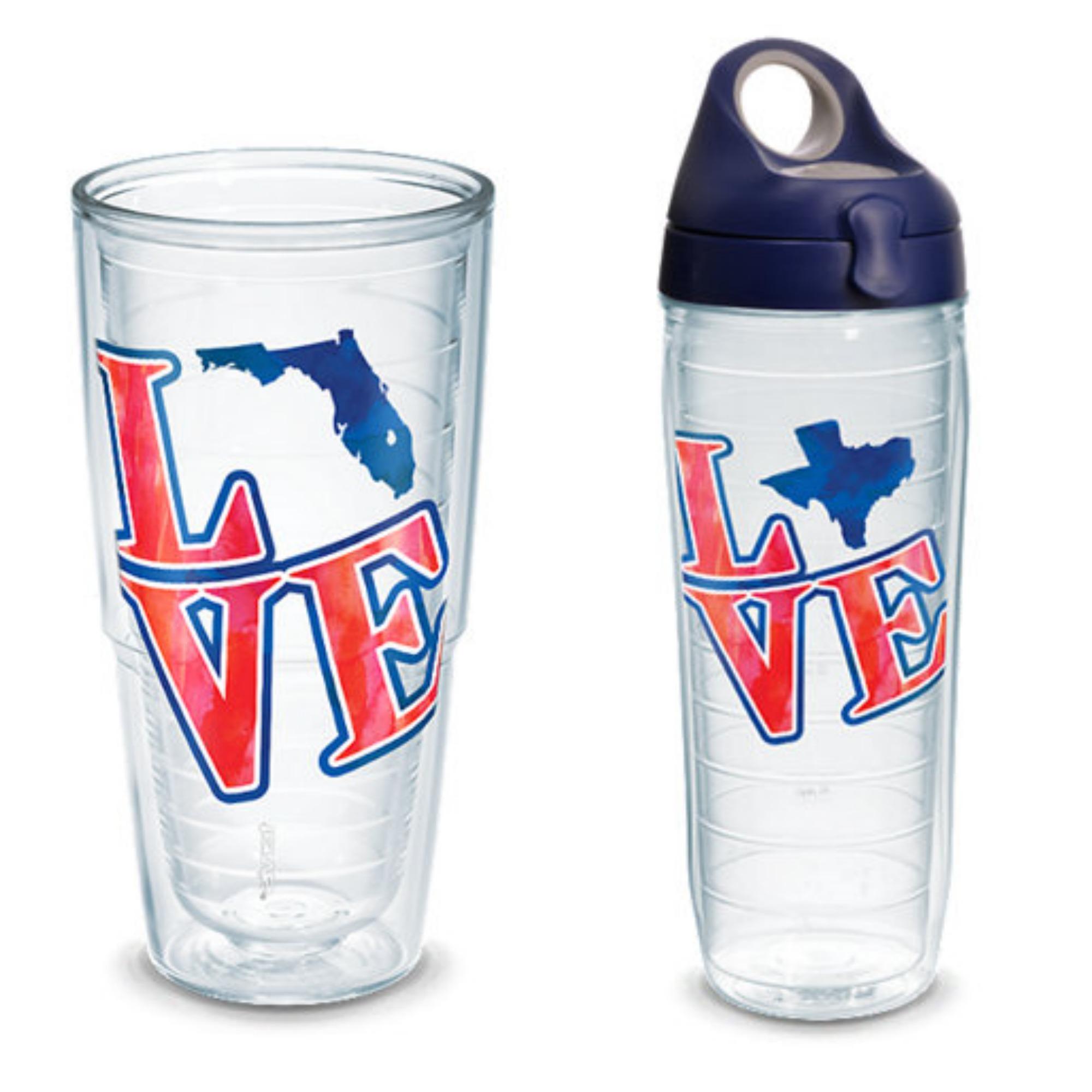 LOVE FL LOVE TX tervis tumblers