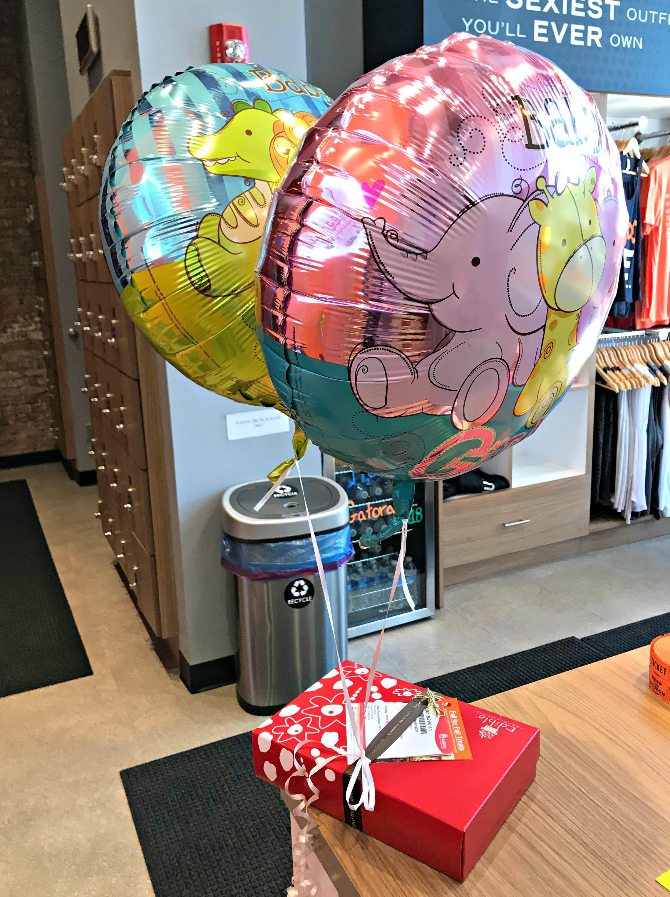 congrats baby balloons