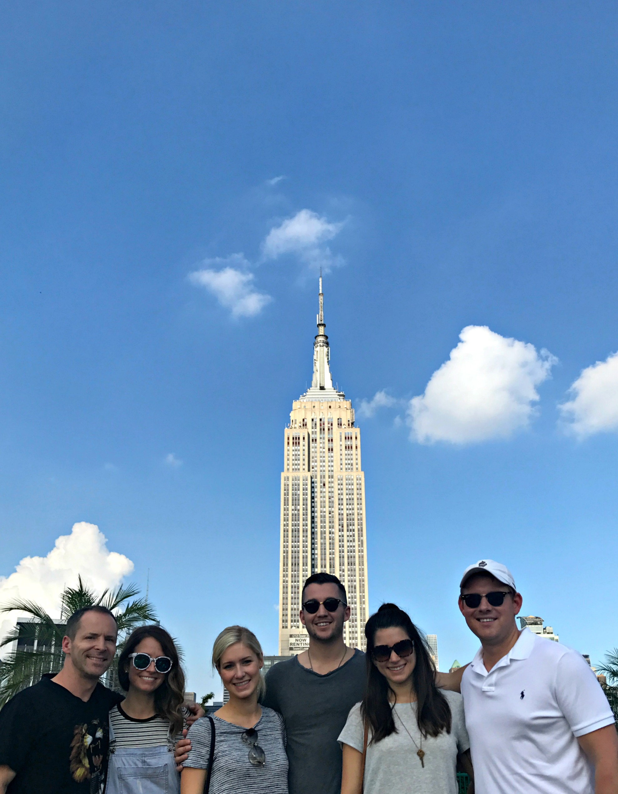 friends empire state building