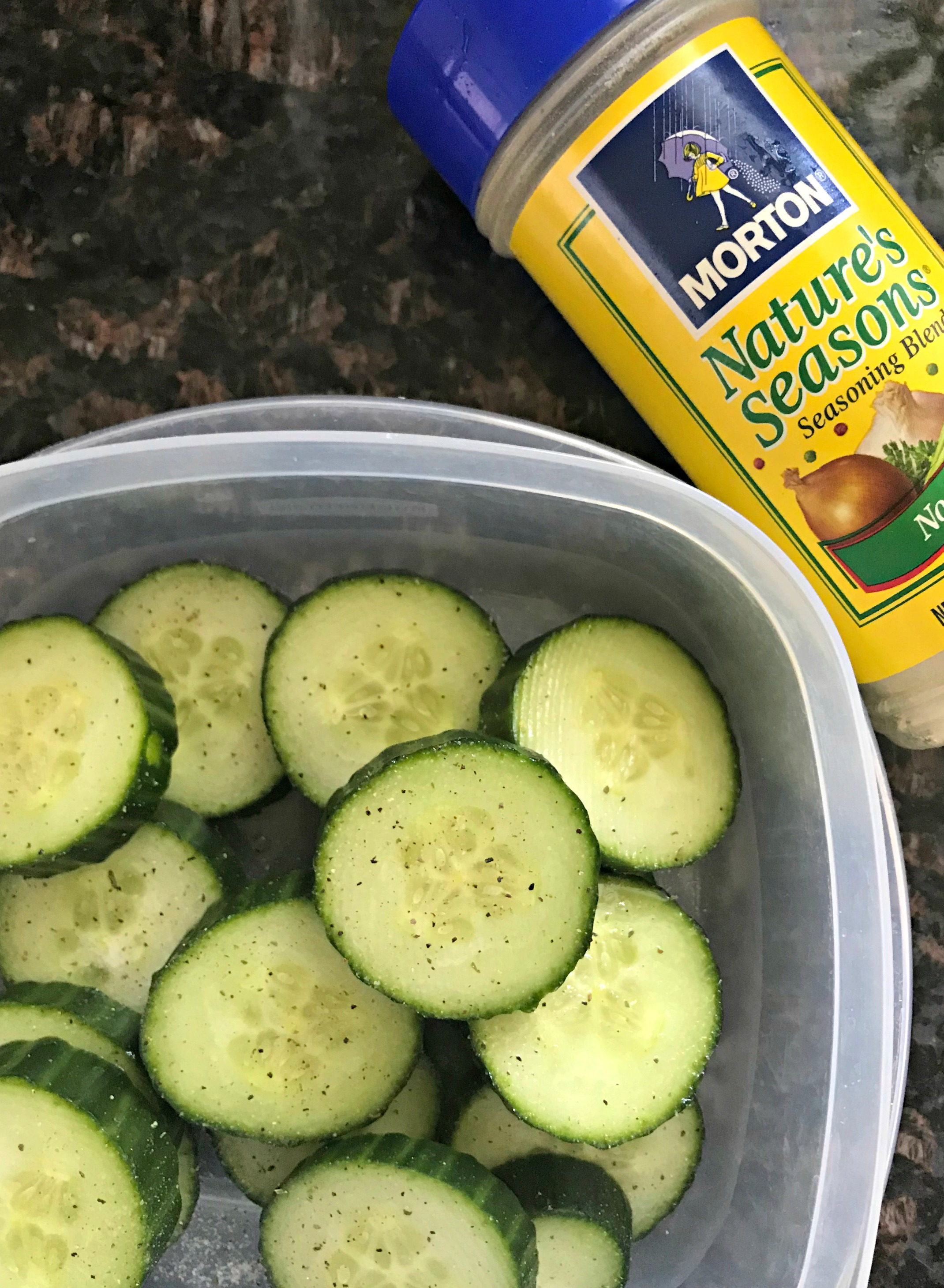 nature's seasons with cucumbers