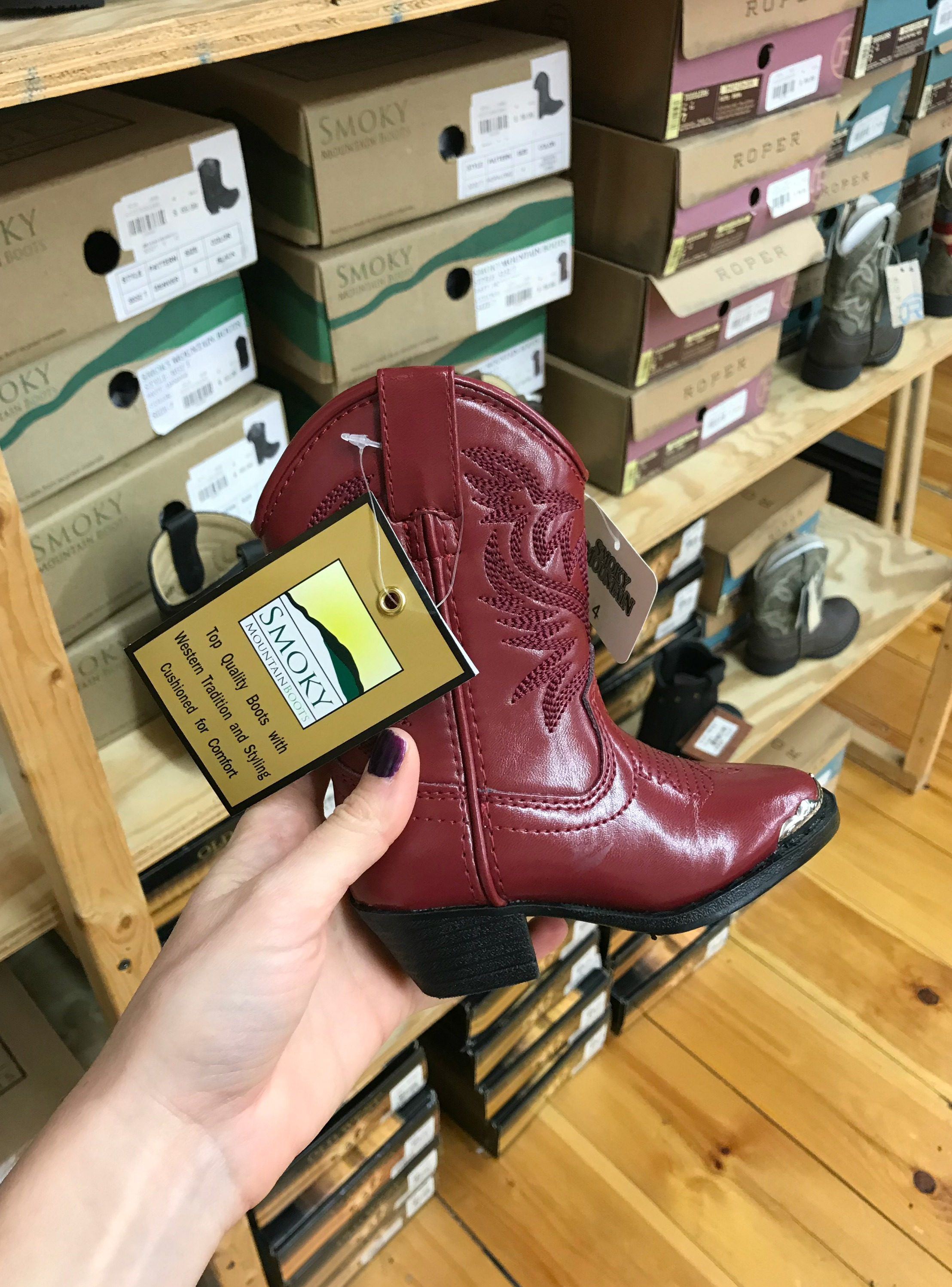 nashville cowboy boots for kids