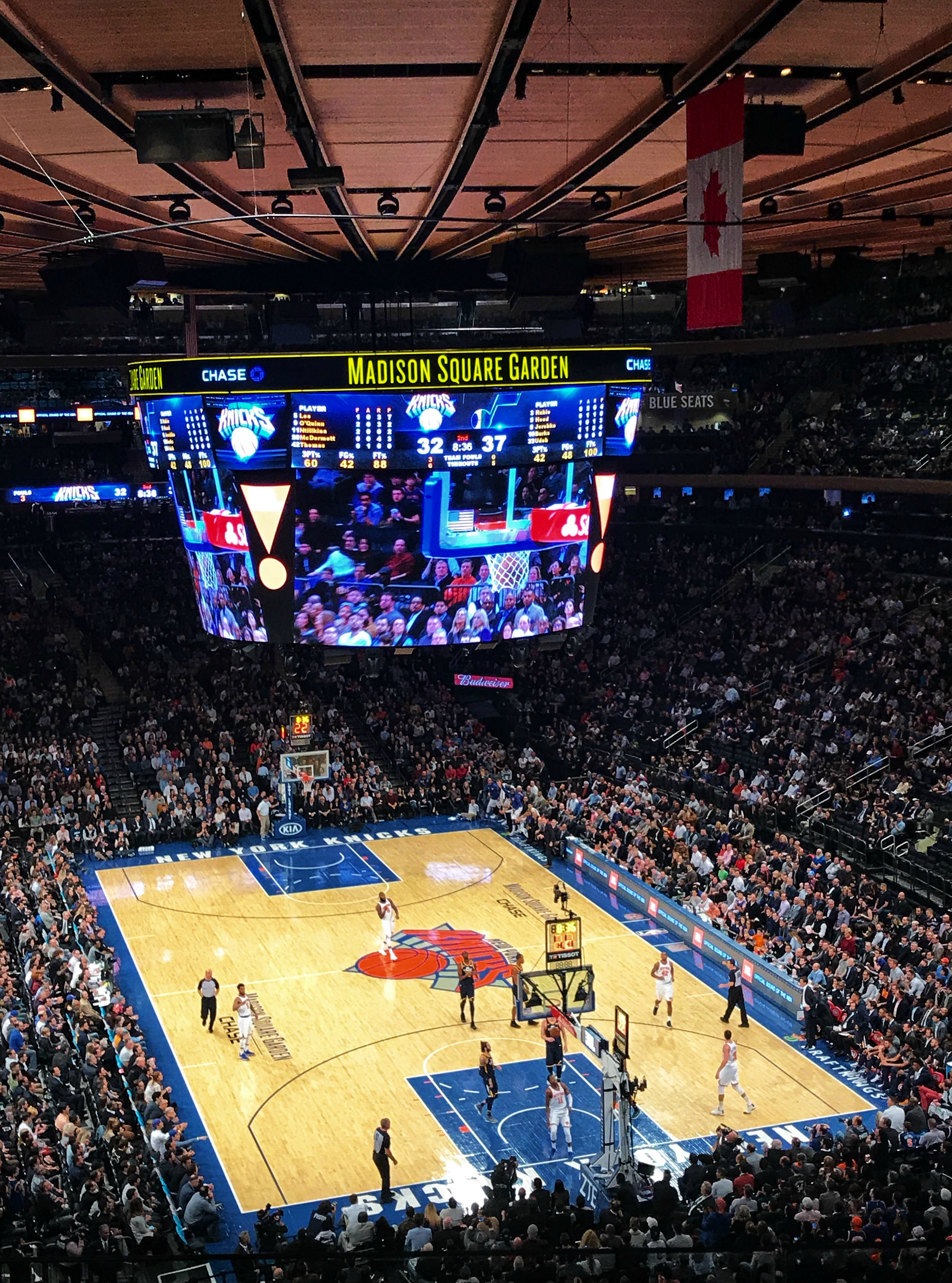 ny knicks madison square garden