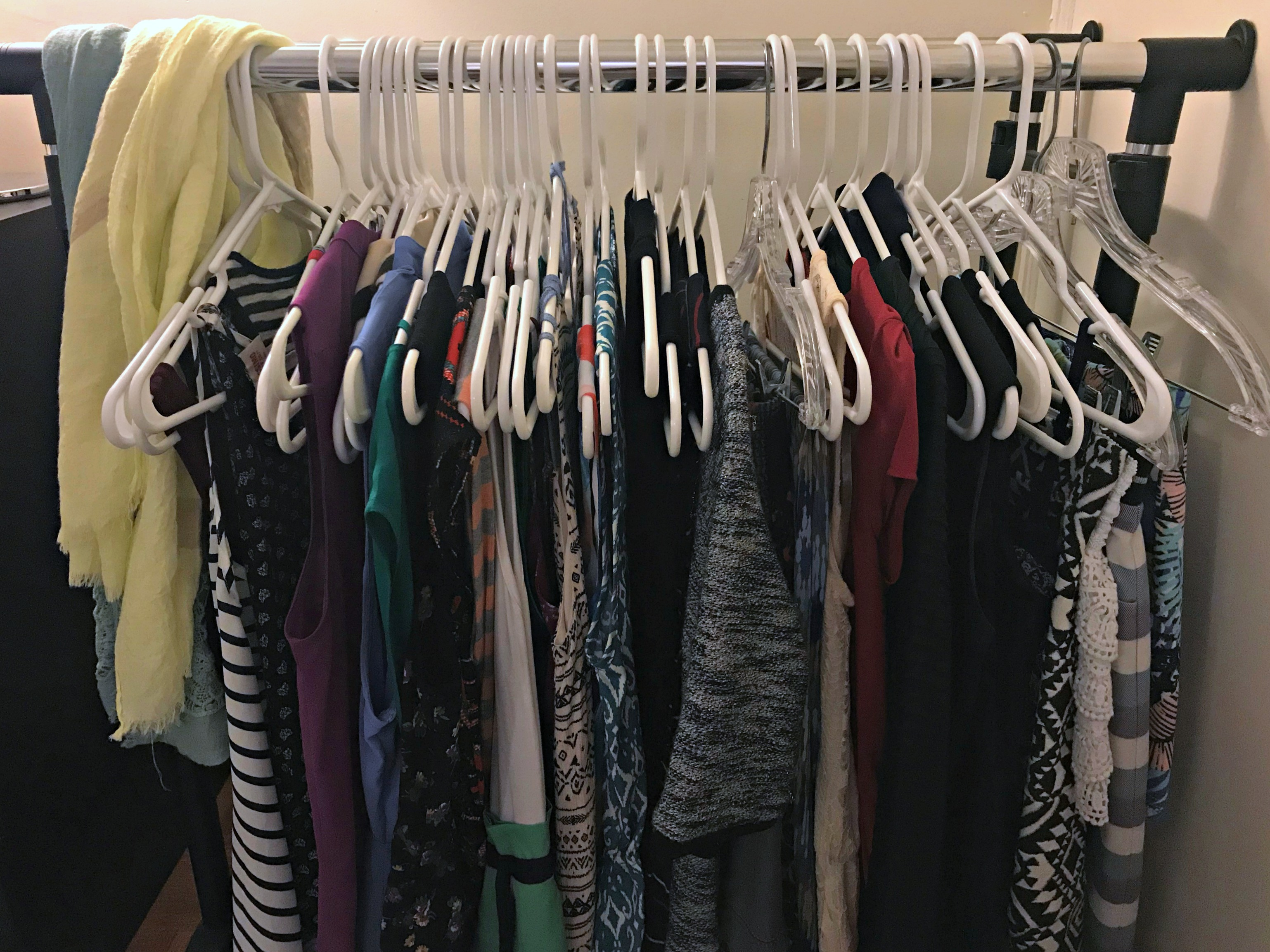 summer clothes storage