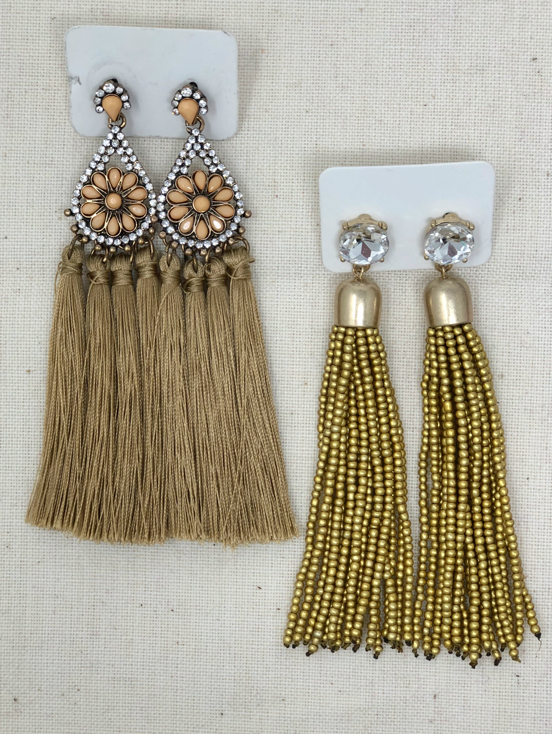 arlo and arrows tassel earrings