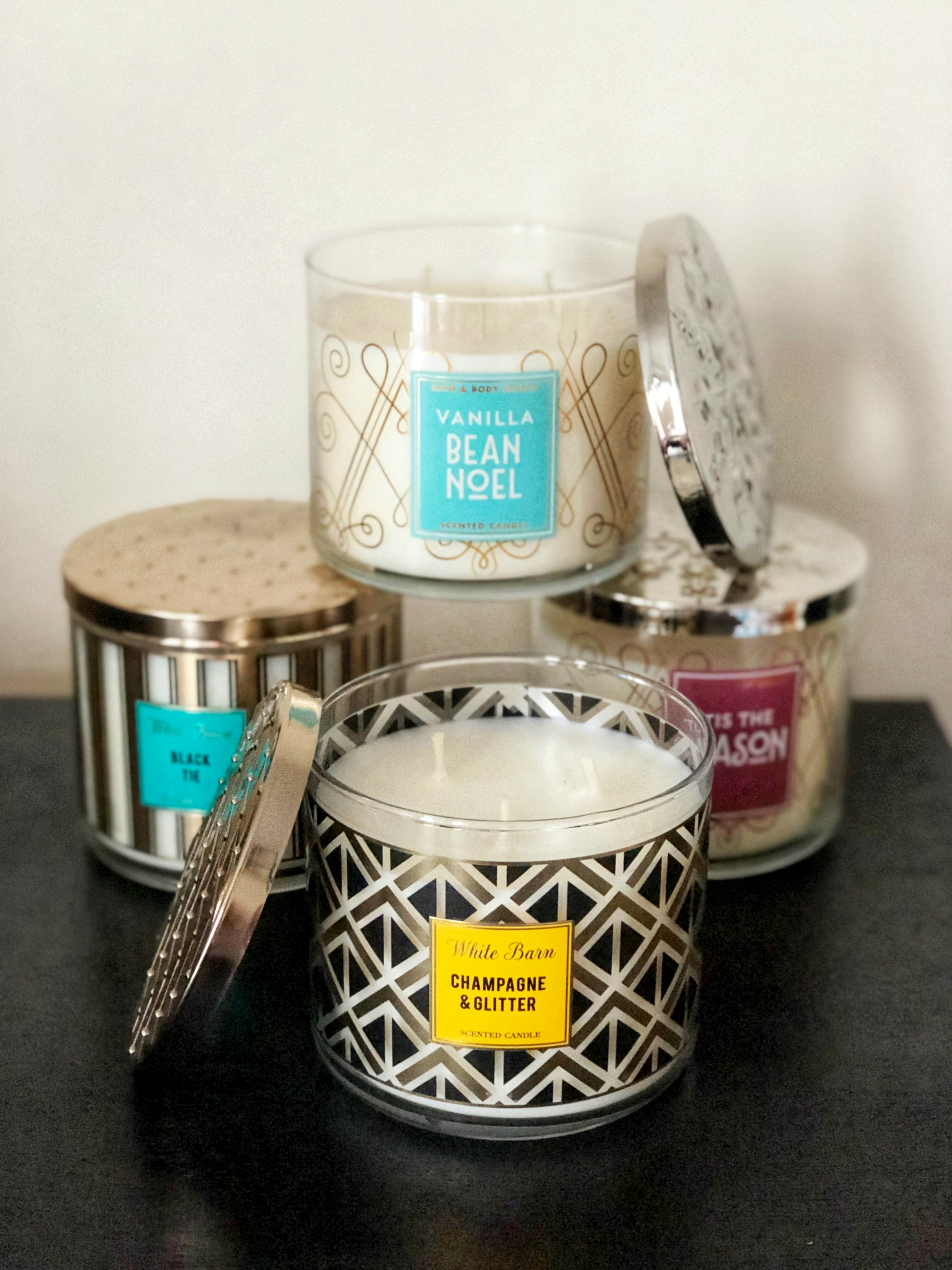 bath and body works holiday candles