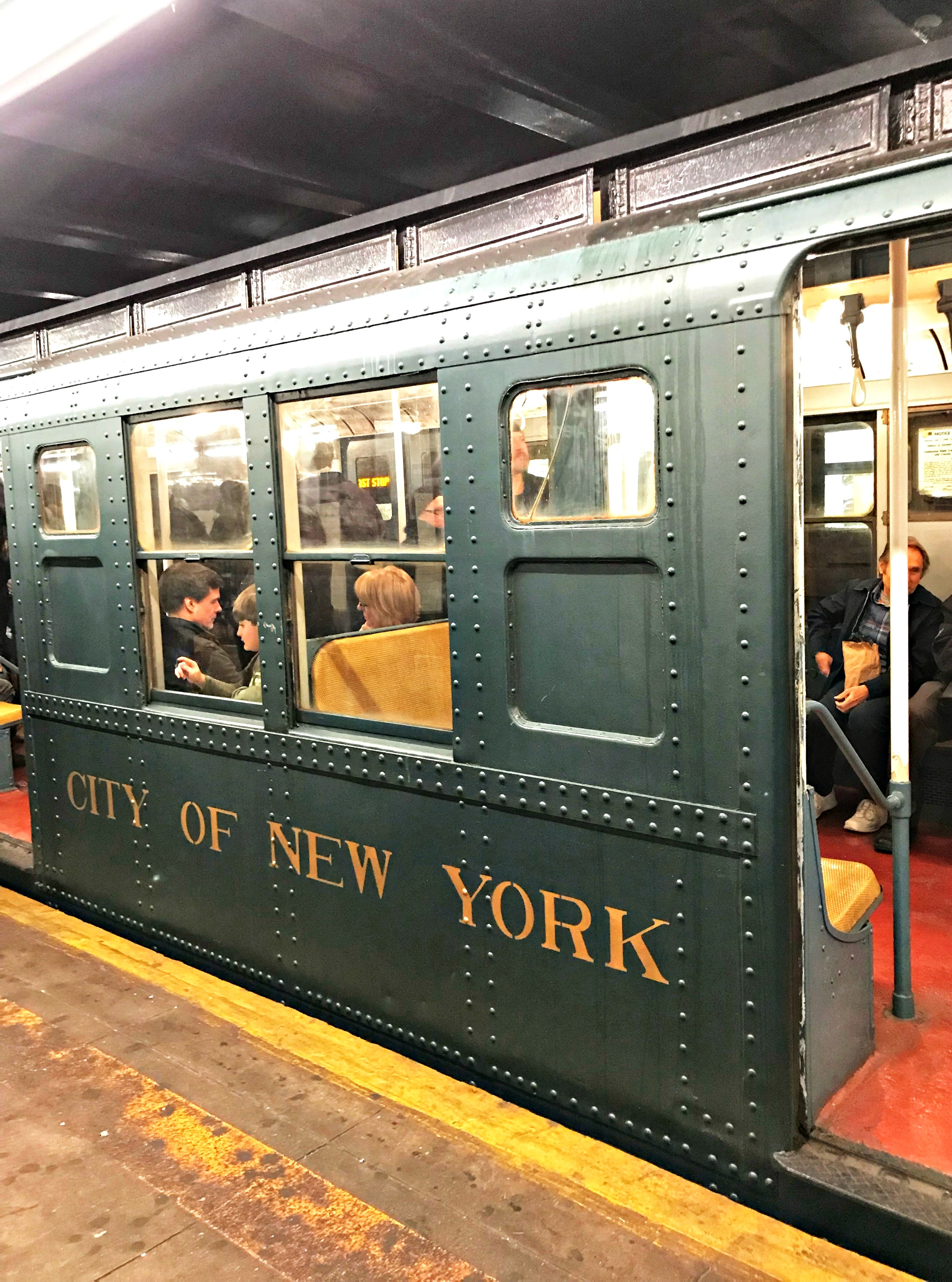 christmas train nyc
