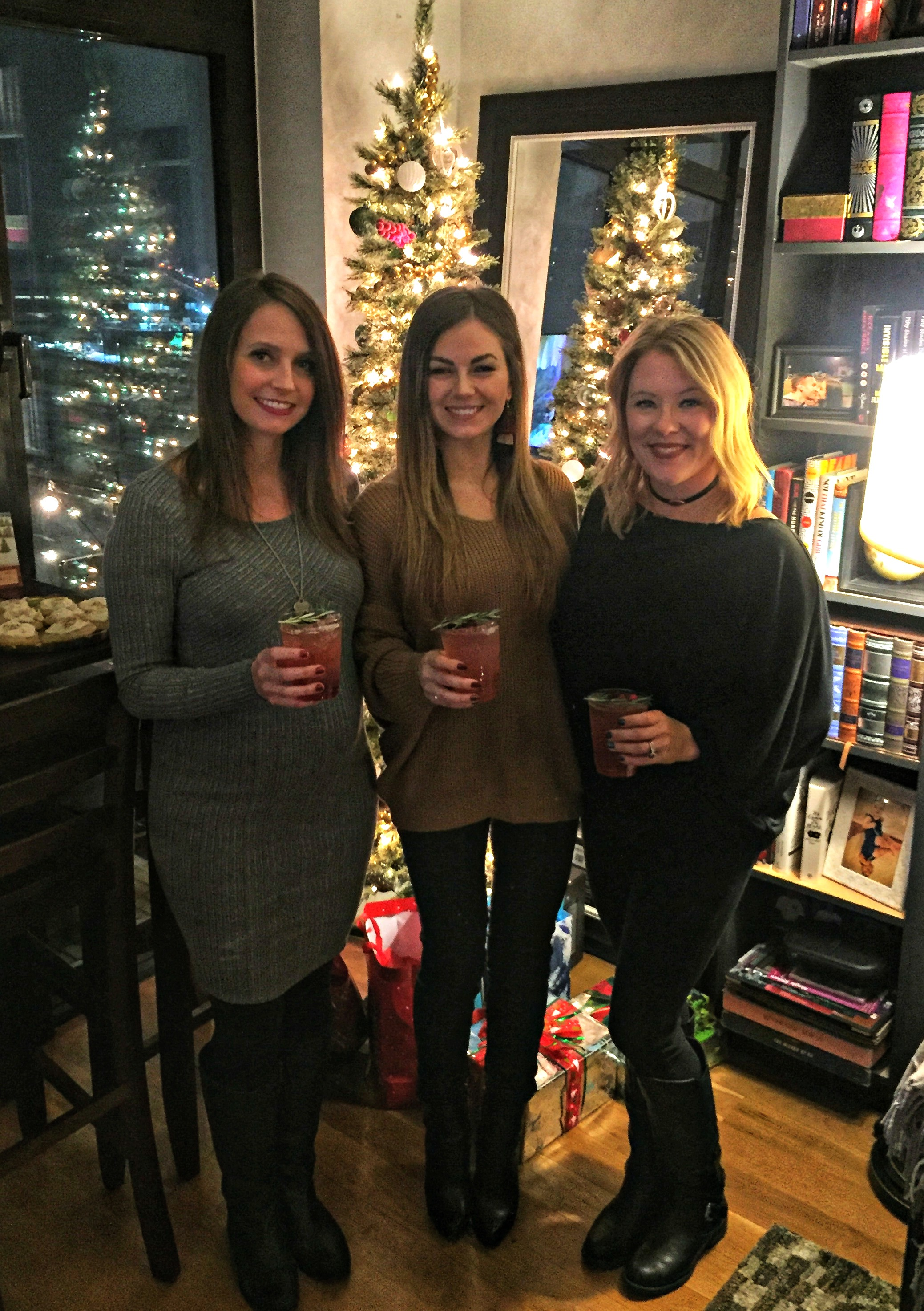 holiday party girls