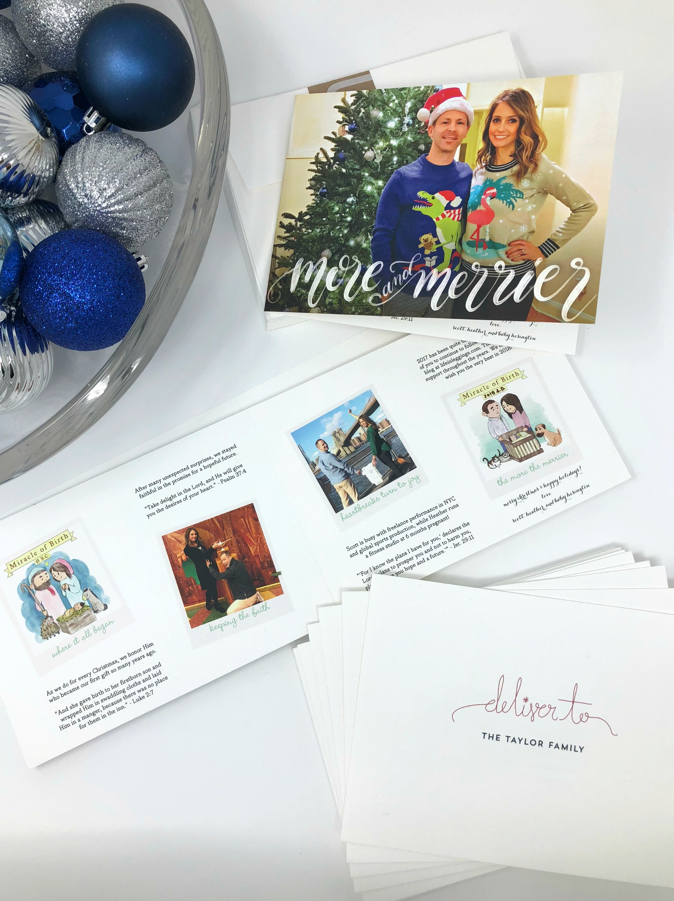 minted holiday cards storyline