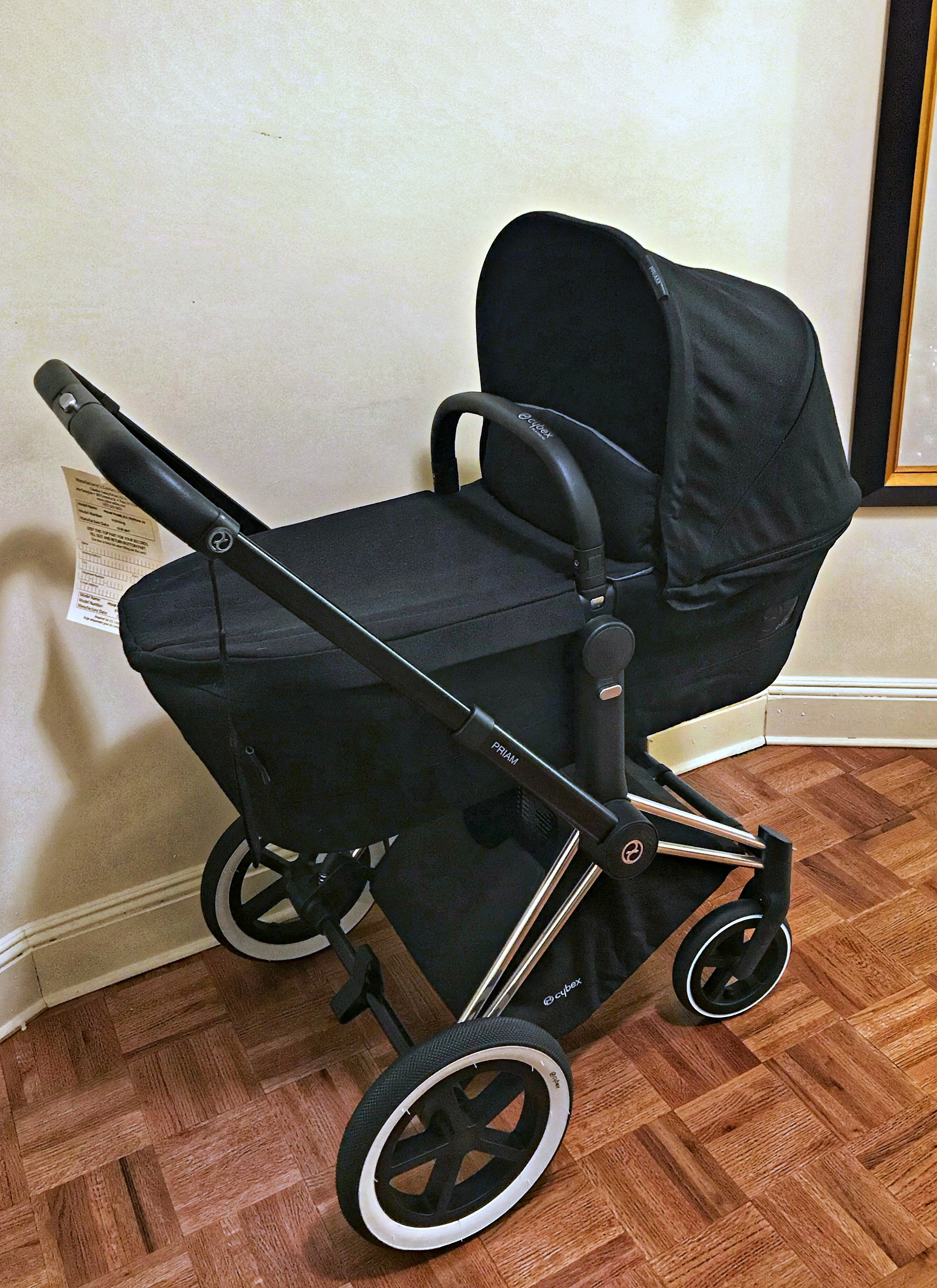 cybex stroller base and 2-in-1 seat