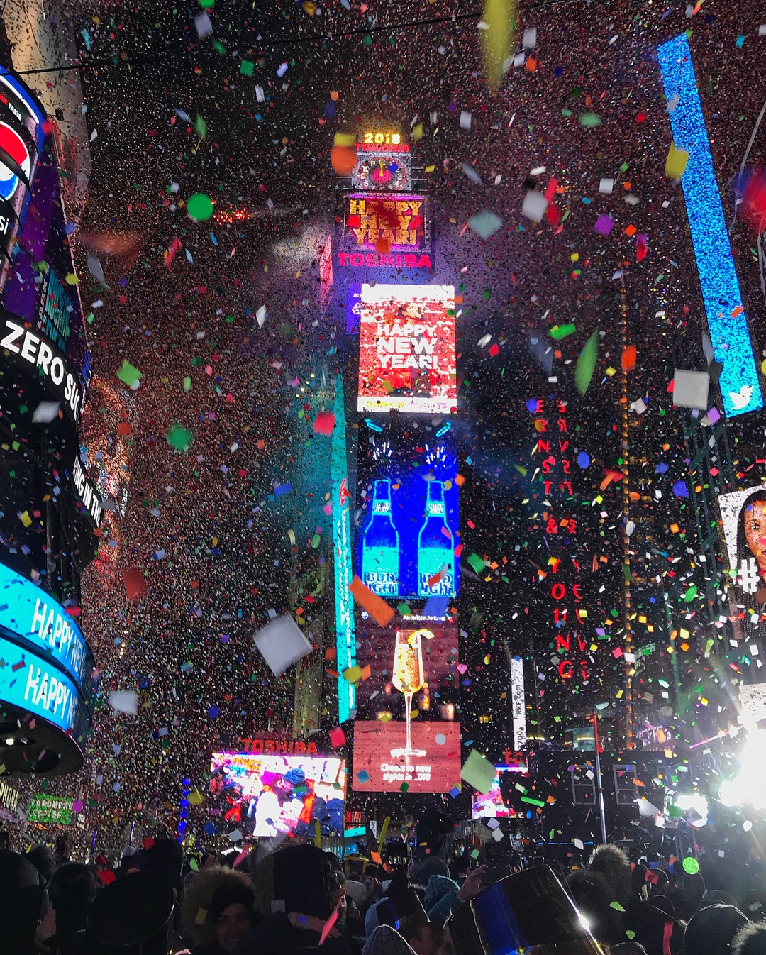 new years eve times square 2018