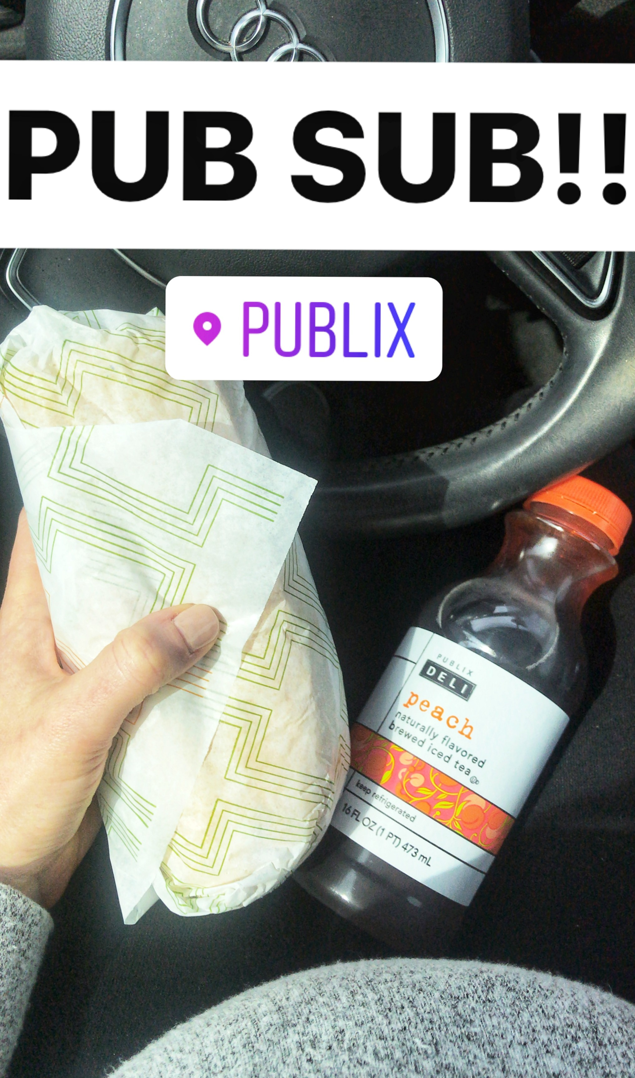 publix sub and bump