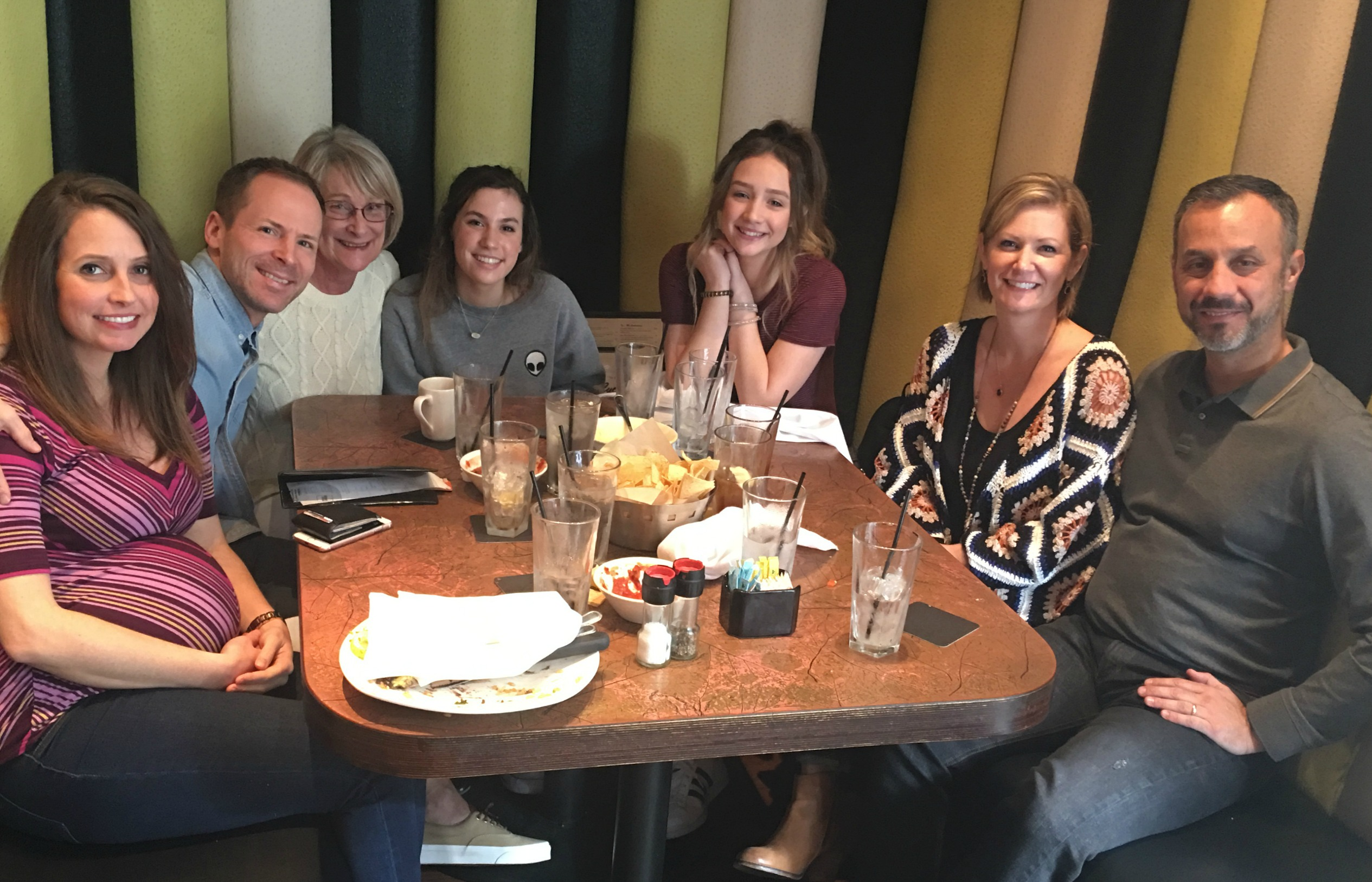 lunch with scott's family