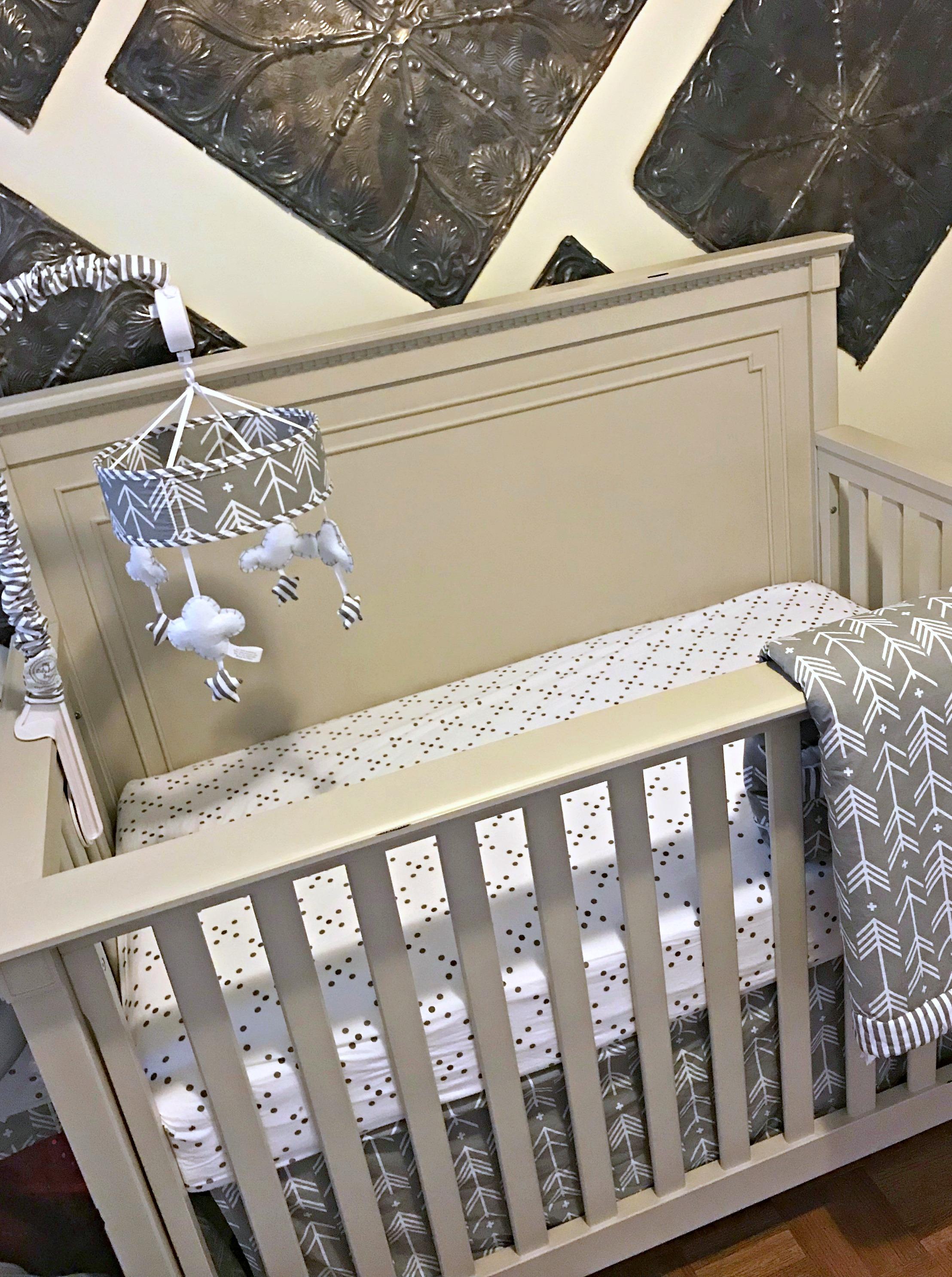 baby room sneak peek