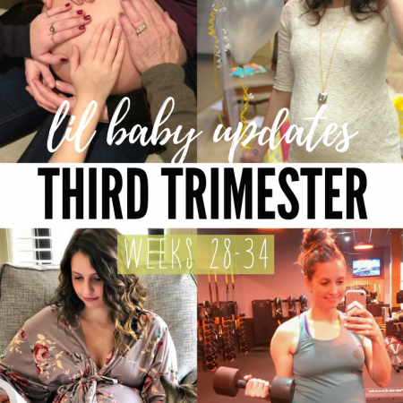 life in leggings baby - third trimester update weeks 28-34