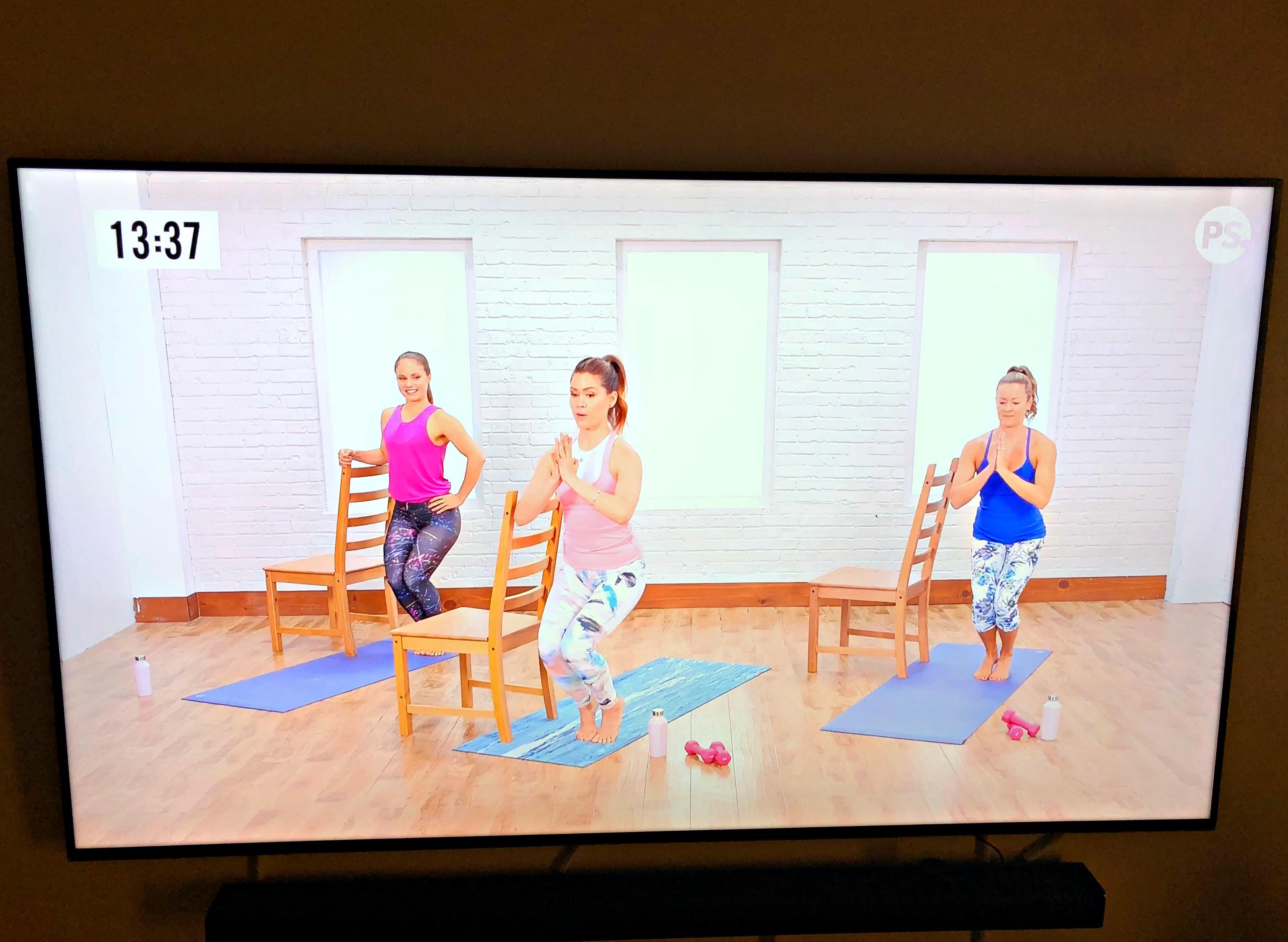 popsugar yoga barre workout
