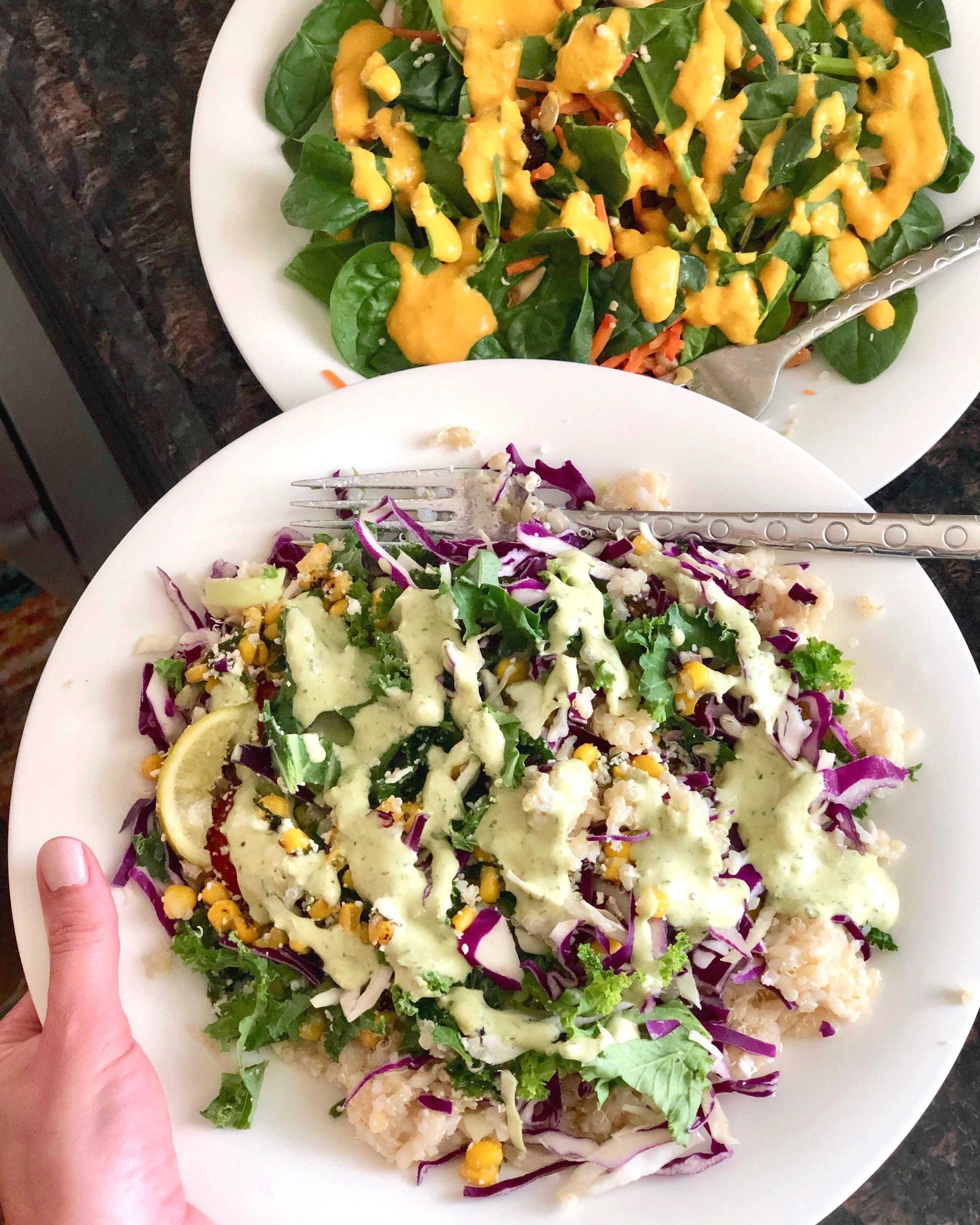 Trader Joes salads
