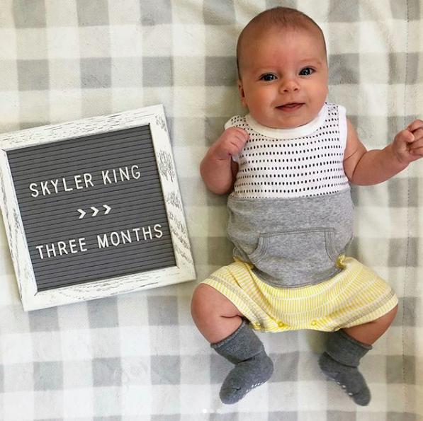 Skyler 3 months old