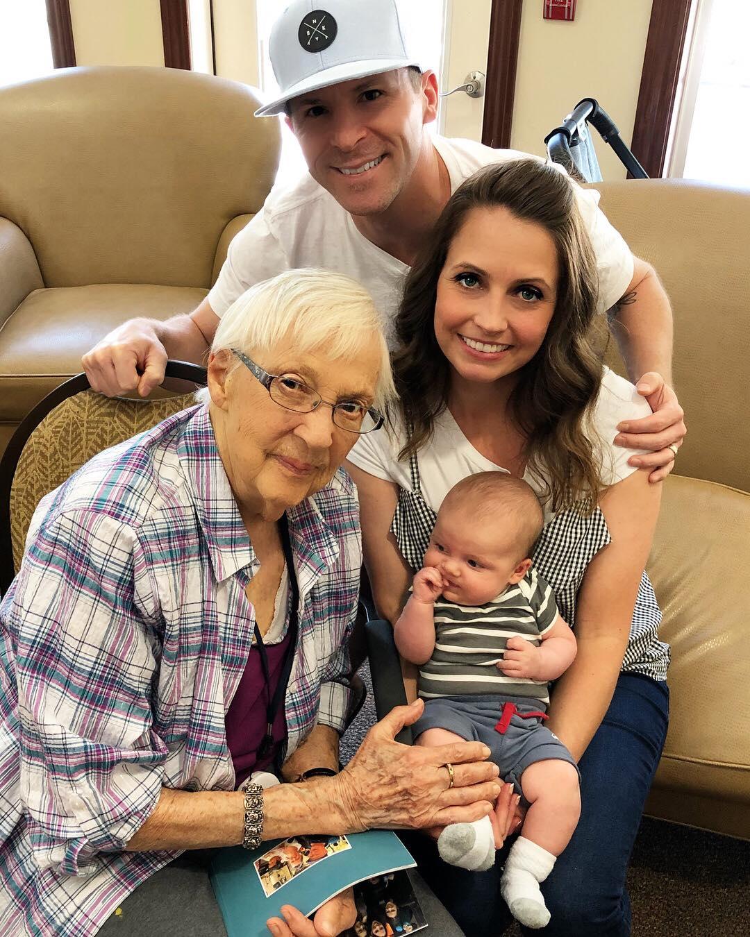 Skyler meeting Grandma Stahl