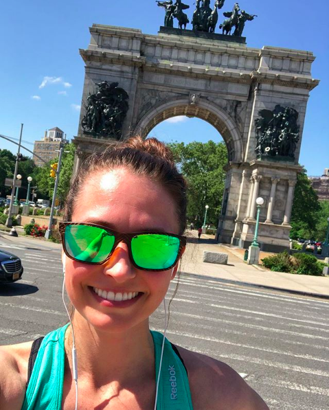 heather running grand army plaza