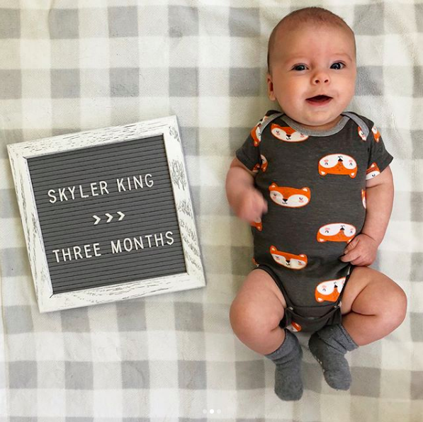 skyler three months update